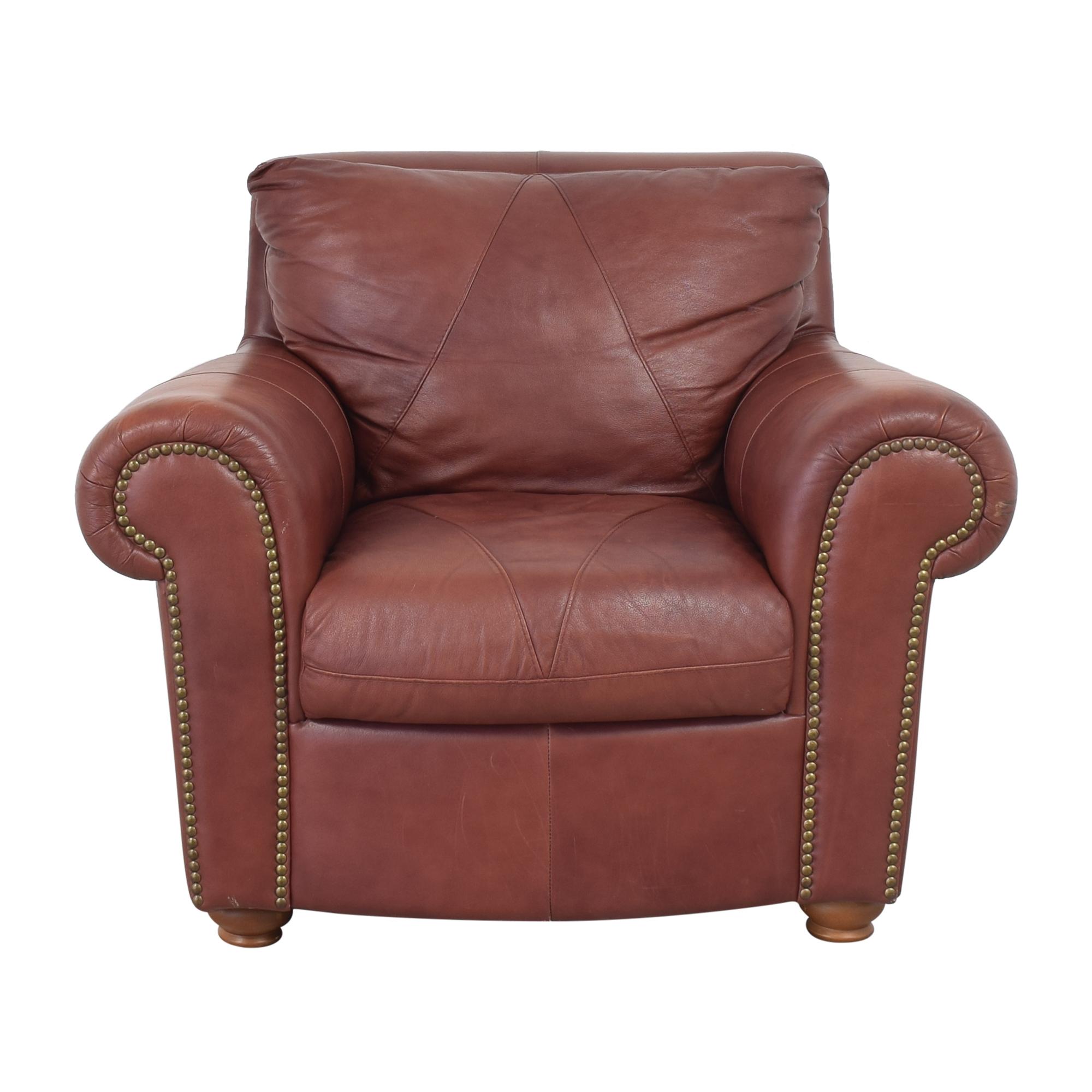 Softline Softline Roll Arm Nailhead Chair dimensions