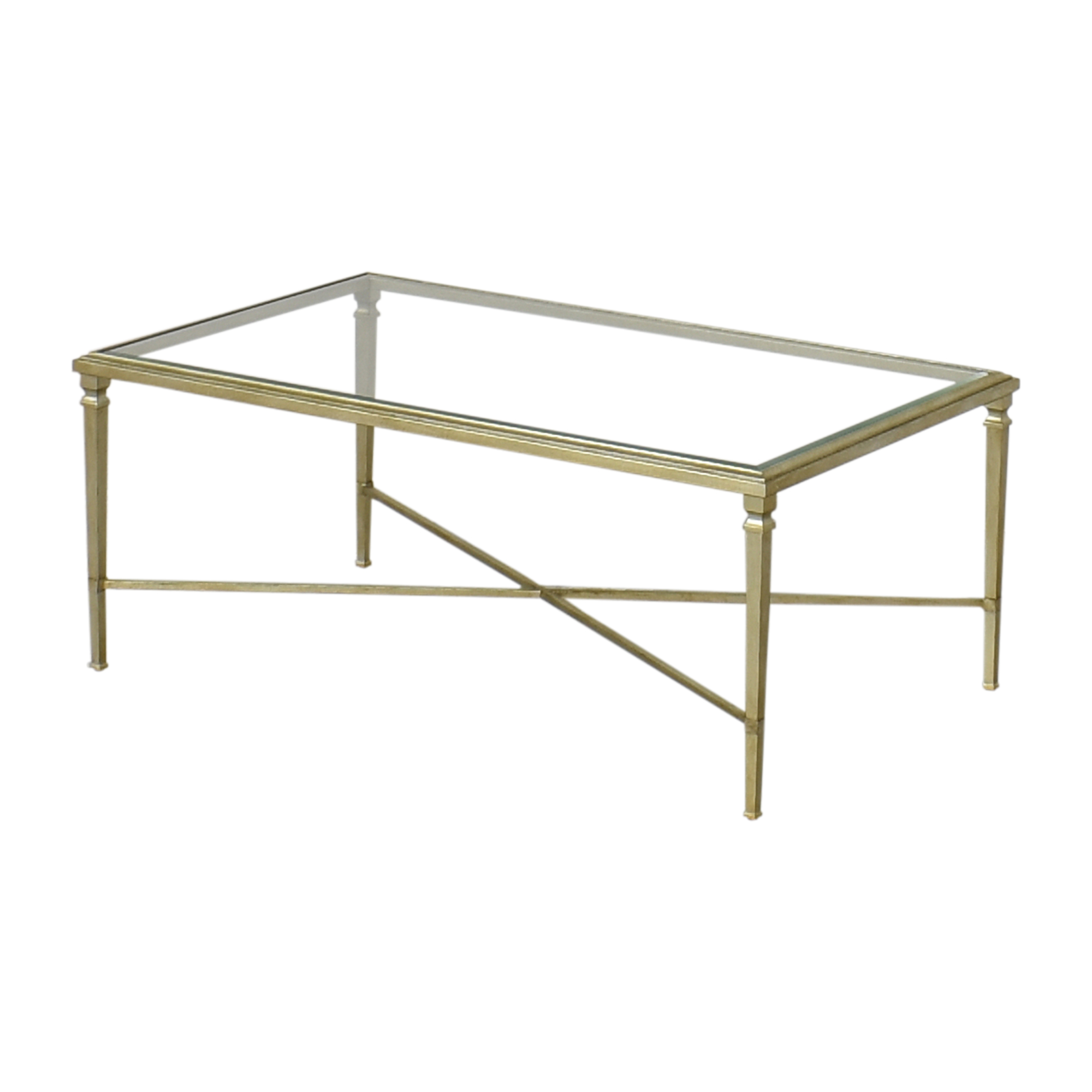Ethan Allen Rectangular Heron Coffee Table / Coffee Tables