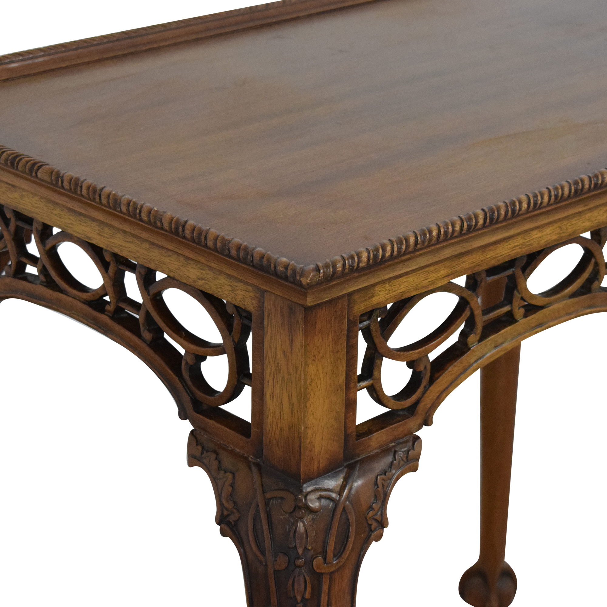 Chippendale-Style End Table ct