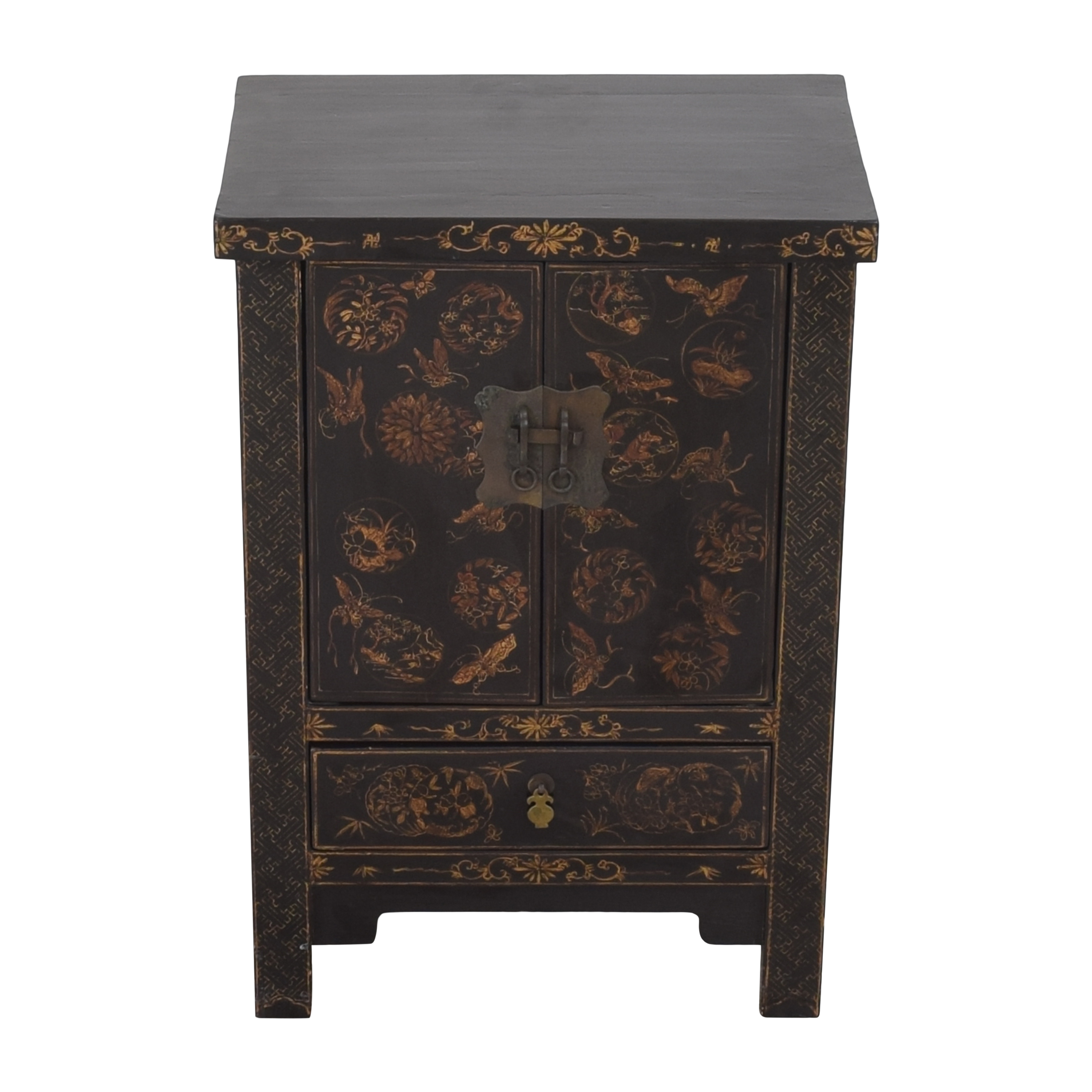 buy Japanese-Style End Table Cabinet