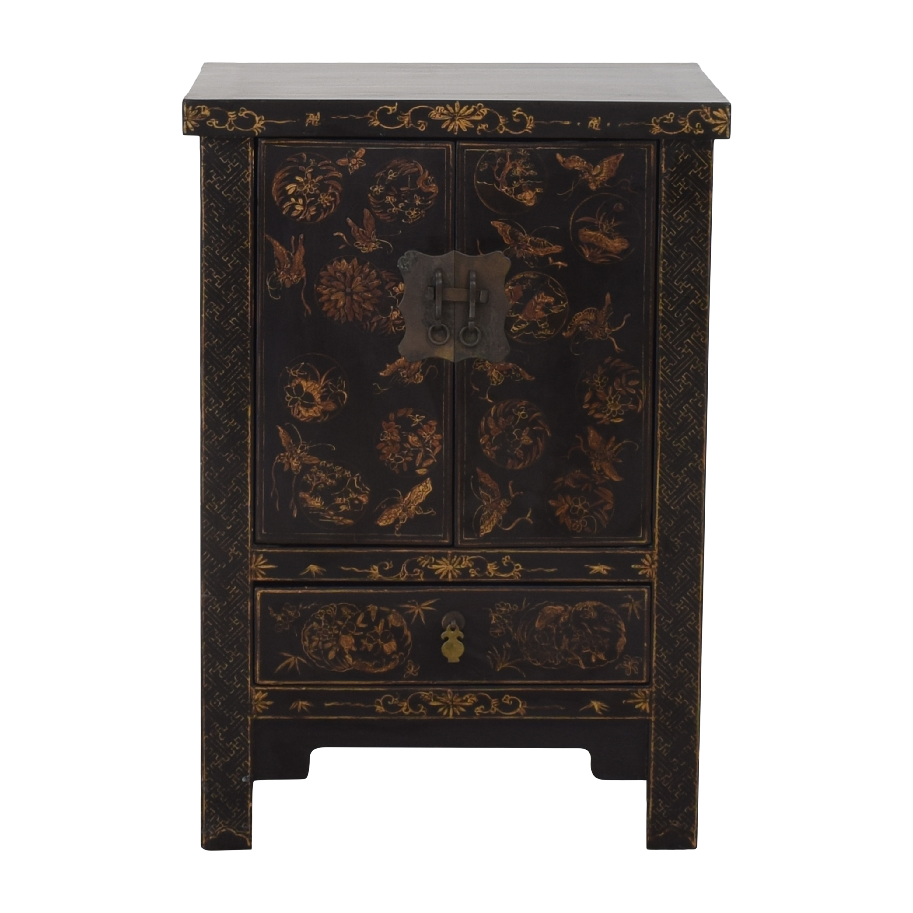 buy Japanese-Style End Table Cabinet  Cabinets & Sideboards
