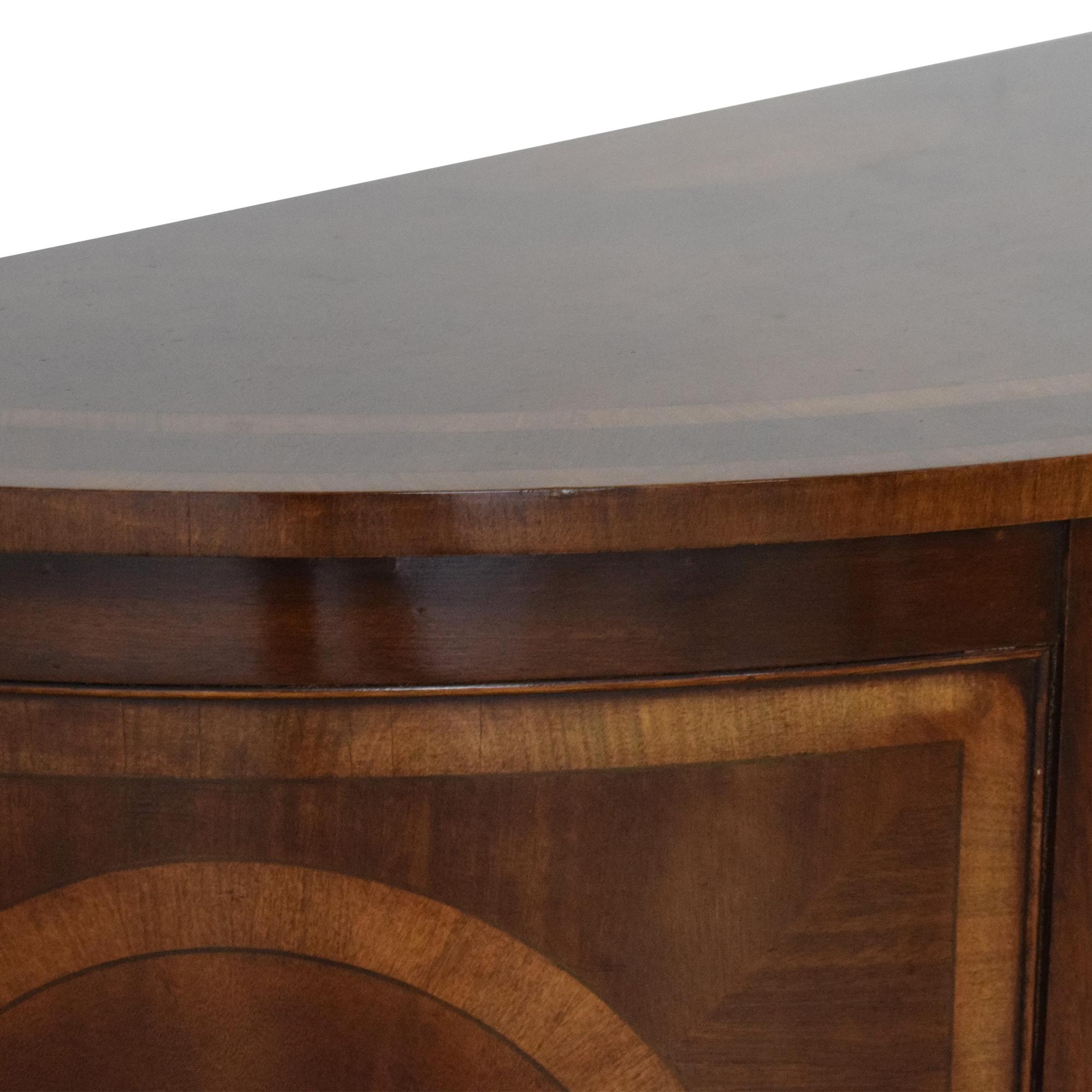 Trosby Furniture Trosby Furniture Demilune Console Storage
