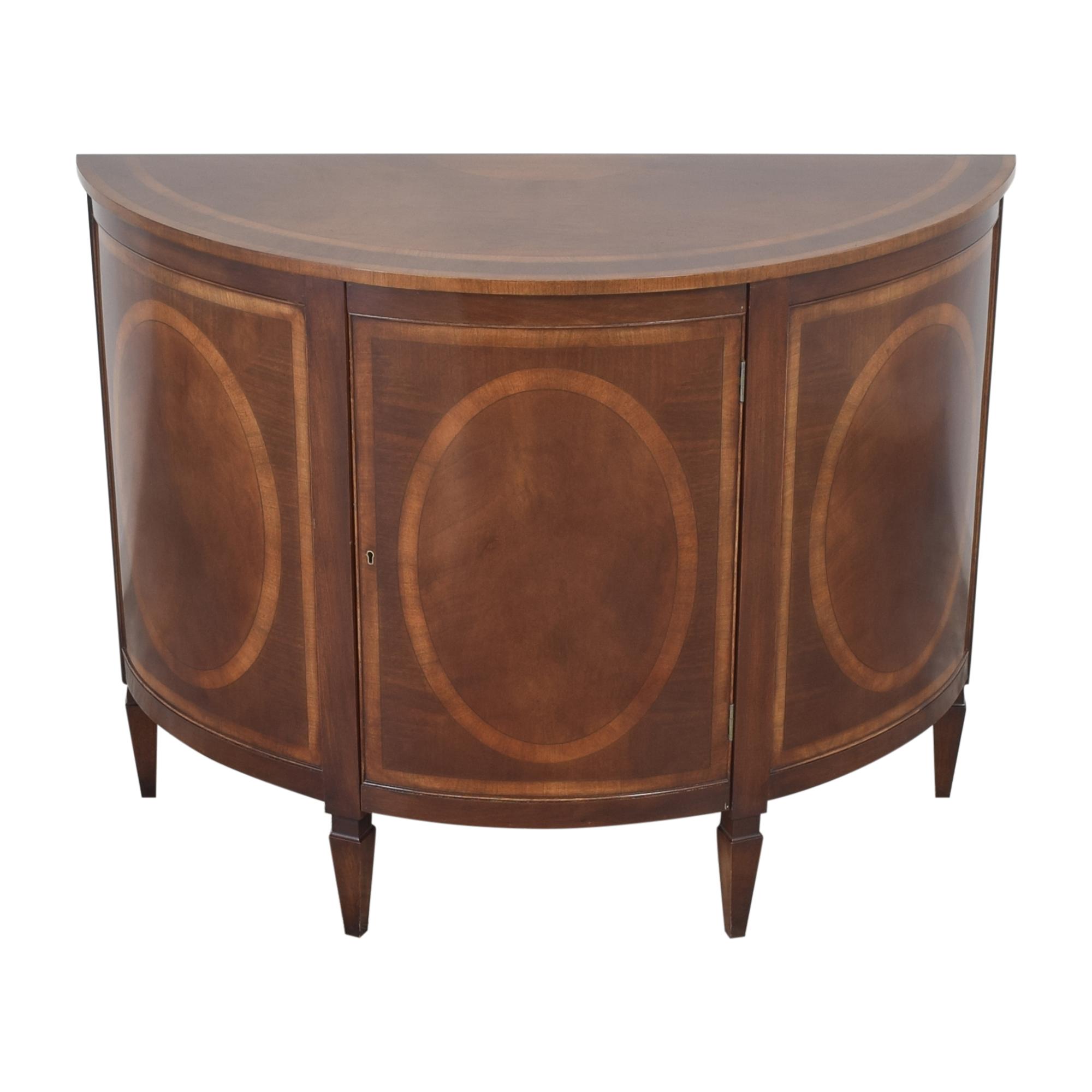Trosby Furniture Trosby Furniture Demilune Console on sale