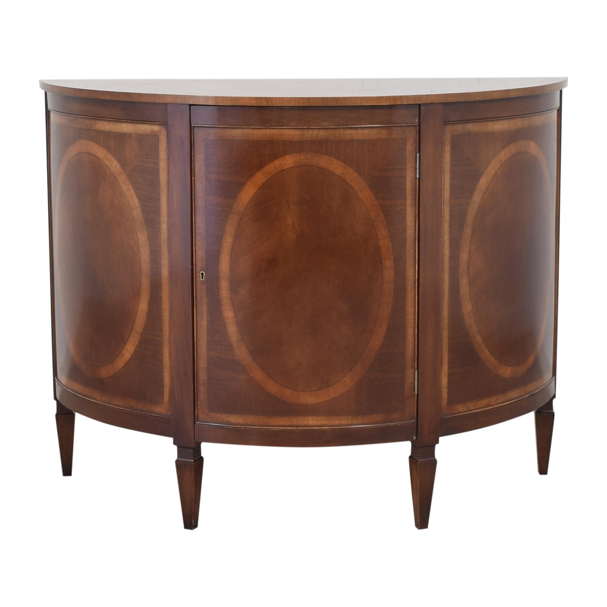 Trosby Furniture Trosby Furniture Demilune Console used