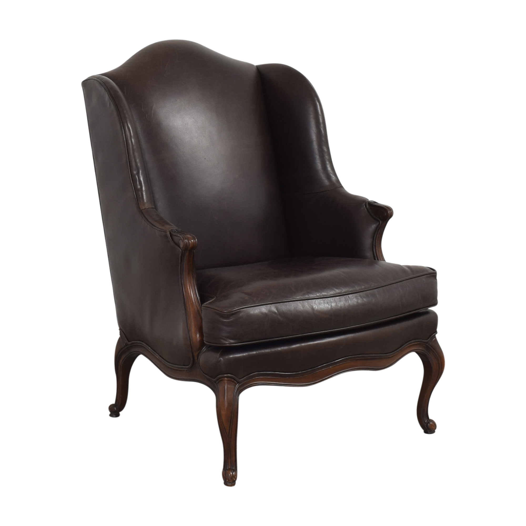 buy Hickory Chair Louis XV Wing Chair Hickory Chair
