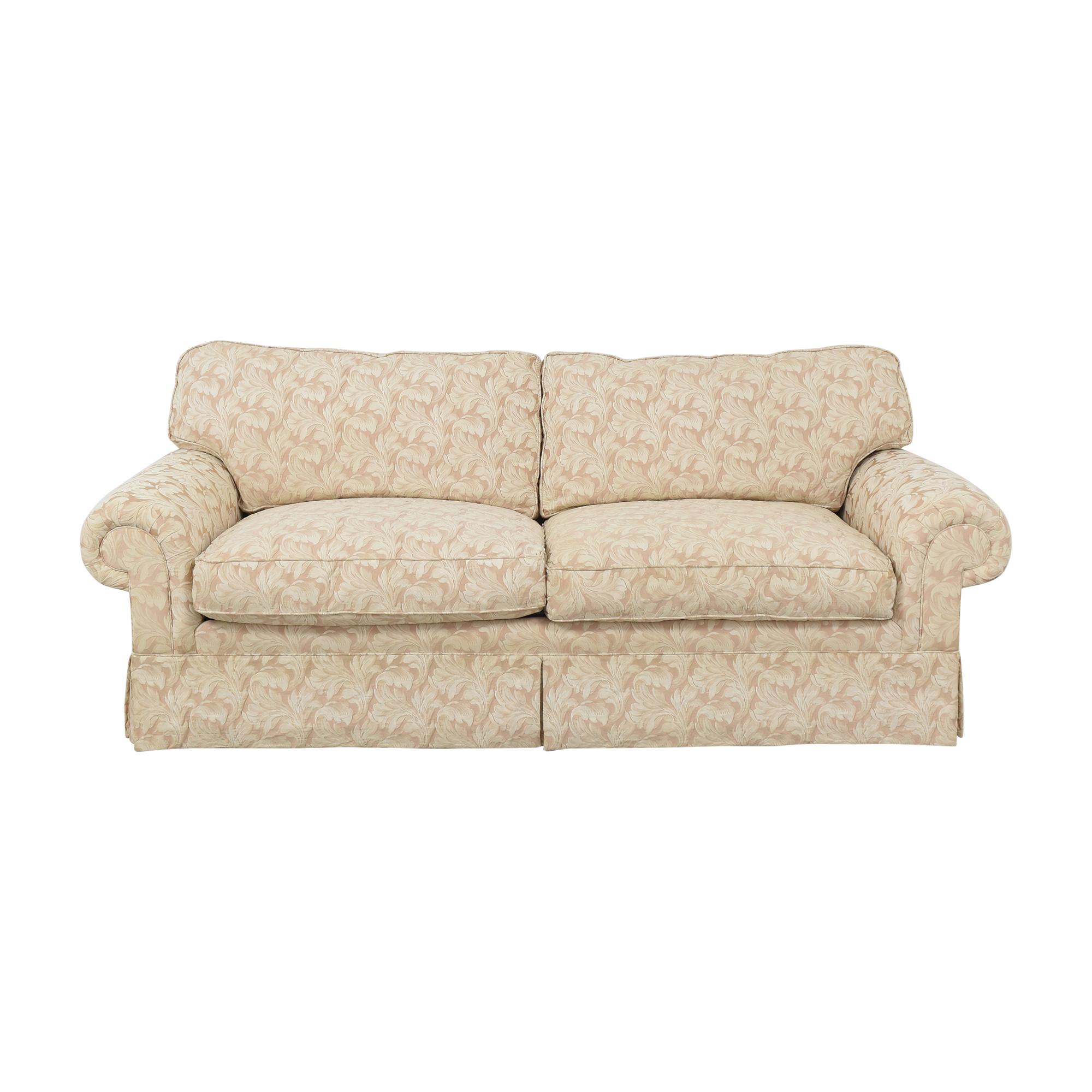Vanguard Furniture Vanguard Furniture Two Cushion Skirted Sofa beige