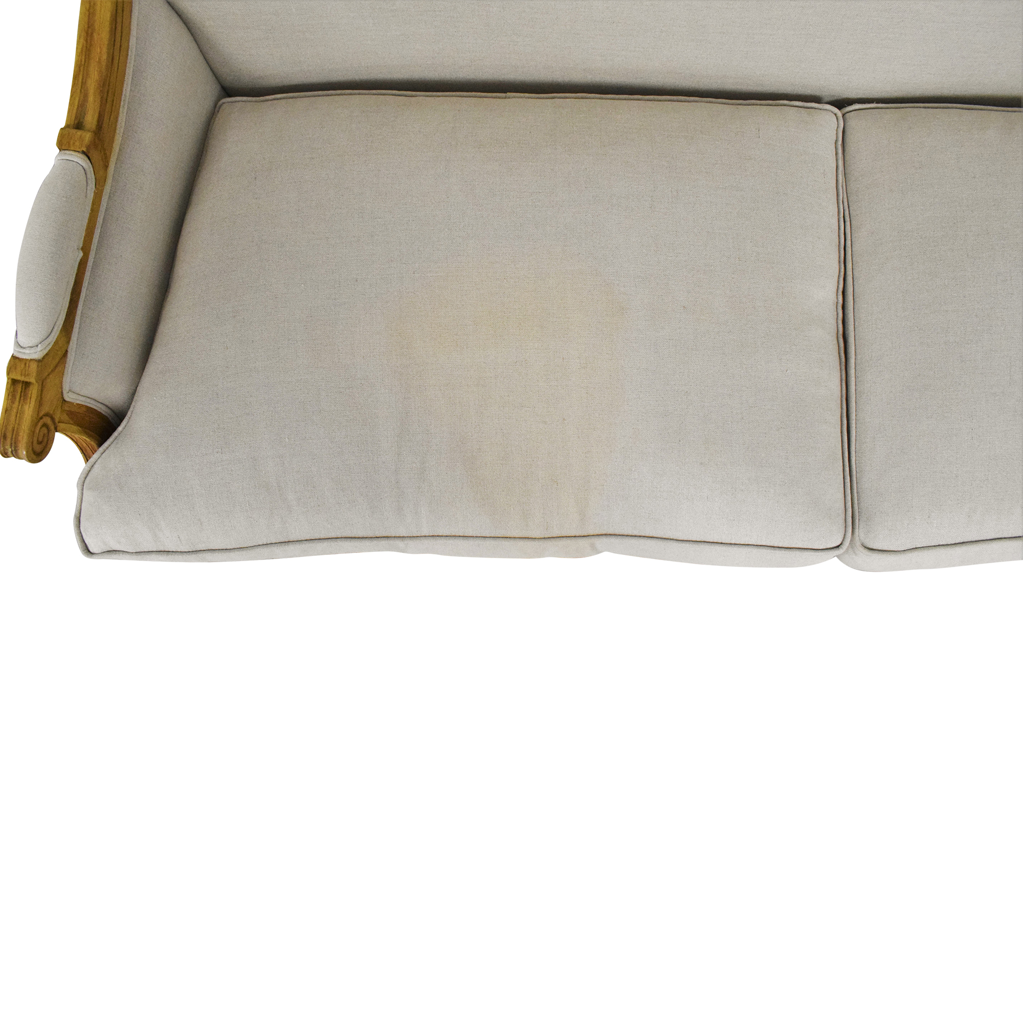 One Kings Lane One Kings Lane Two Cushion Sofa ma