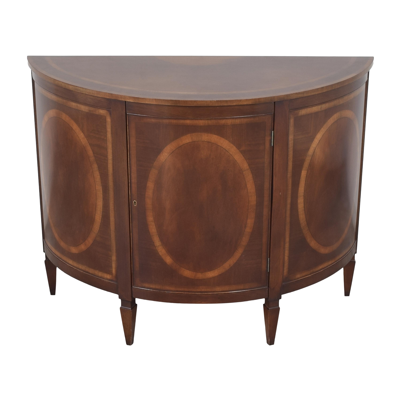 Trosby Furniture Demilune Console sale