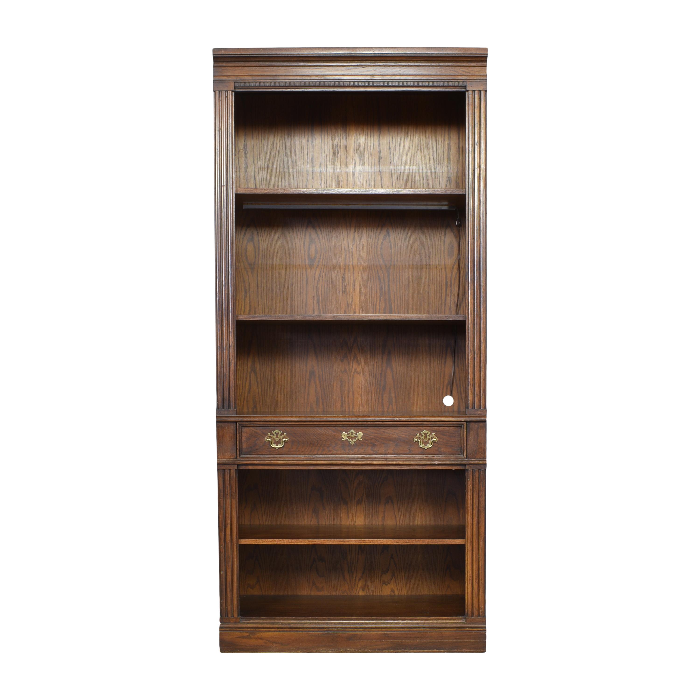 shop Thomasville Bookcase with Drawer Thomasville