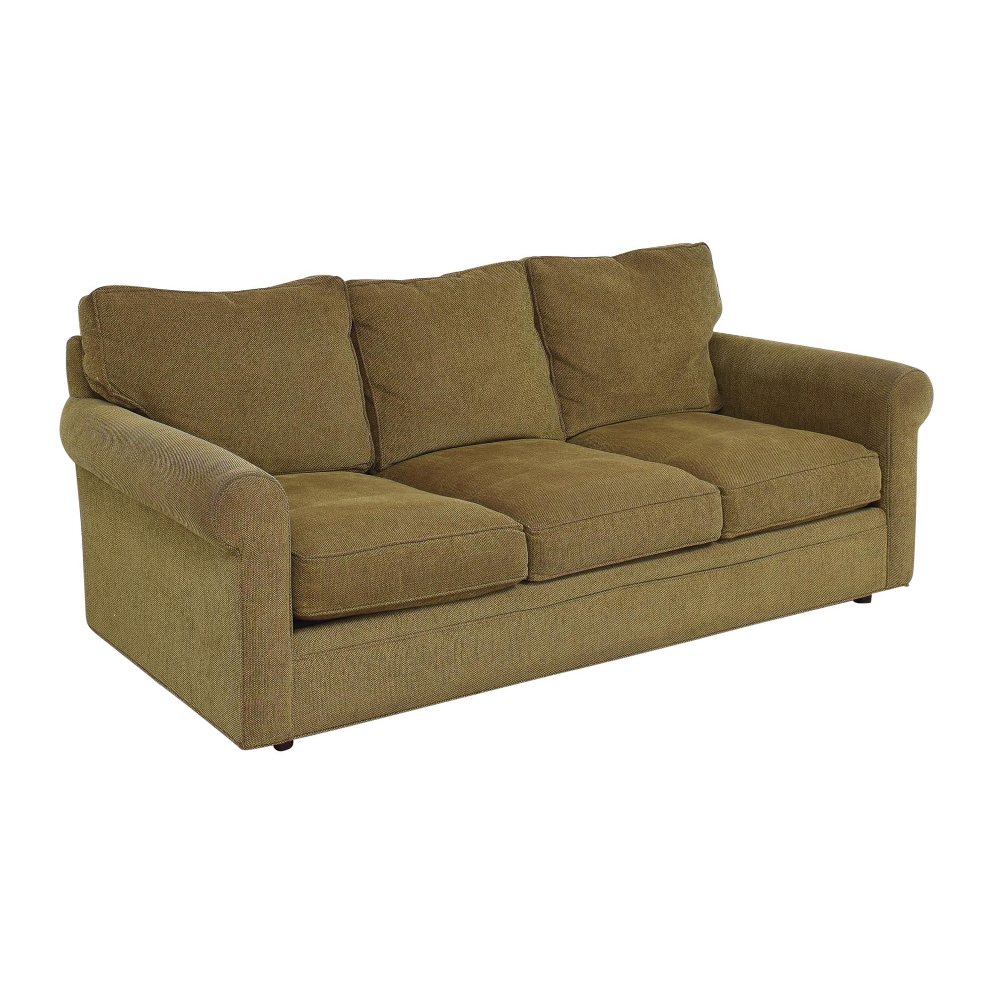shop Crate & Barrel Crate & Barrel Three Cushion Sofa online