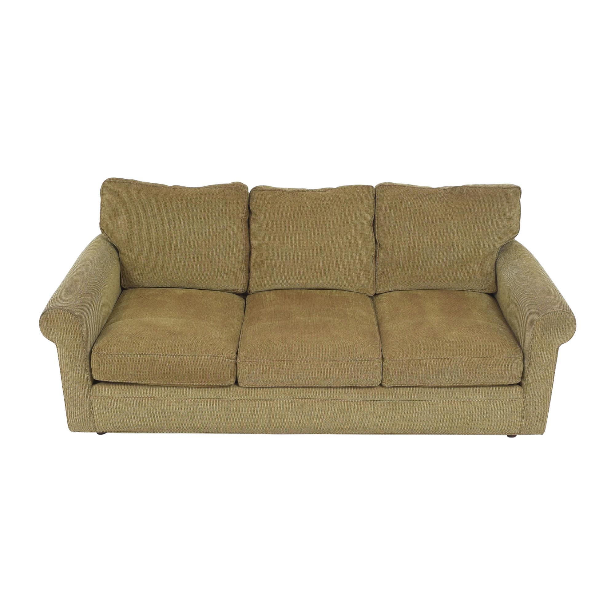 Crate & Barrel Crate & Barrel Three Cushion Sofa second hand