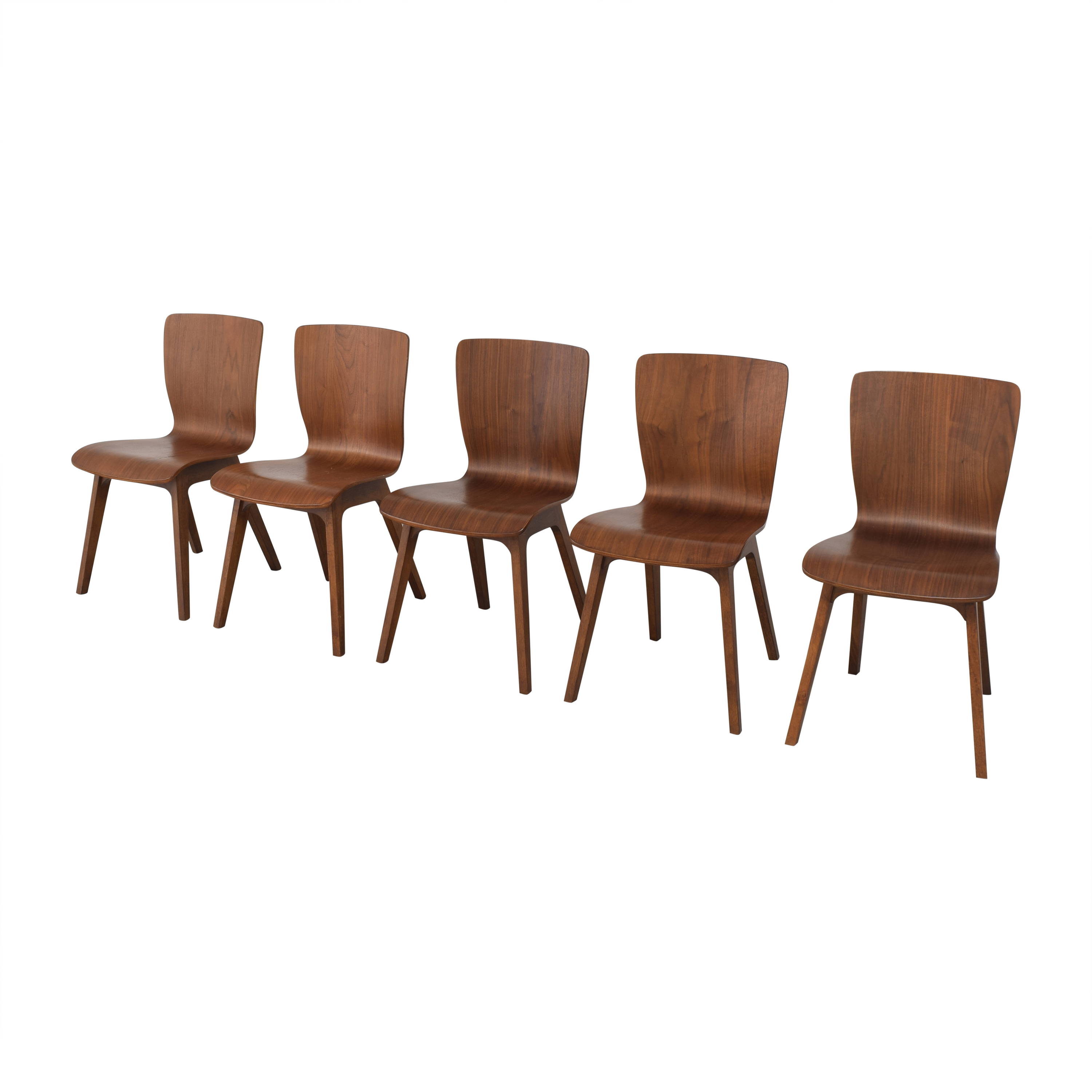 buy West Elm Crest Bentwood Dining Chairs West Elm