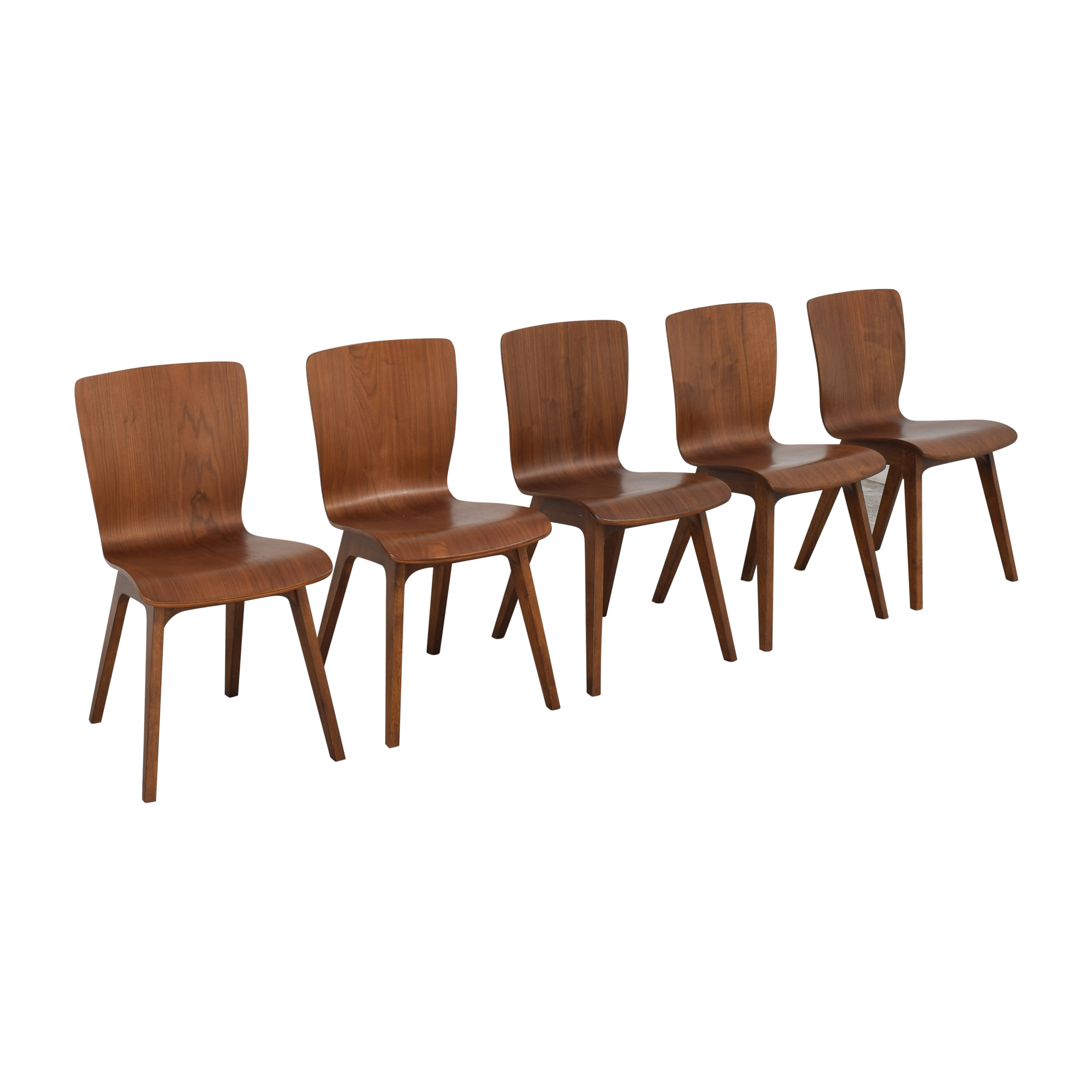 West Elm West Elm Crest Bentwood Dining Chairs dimensions