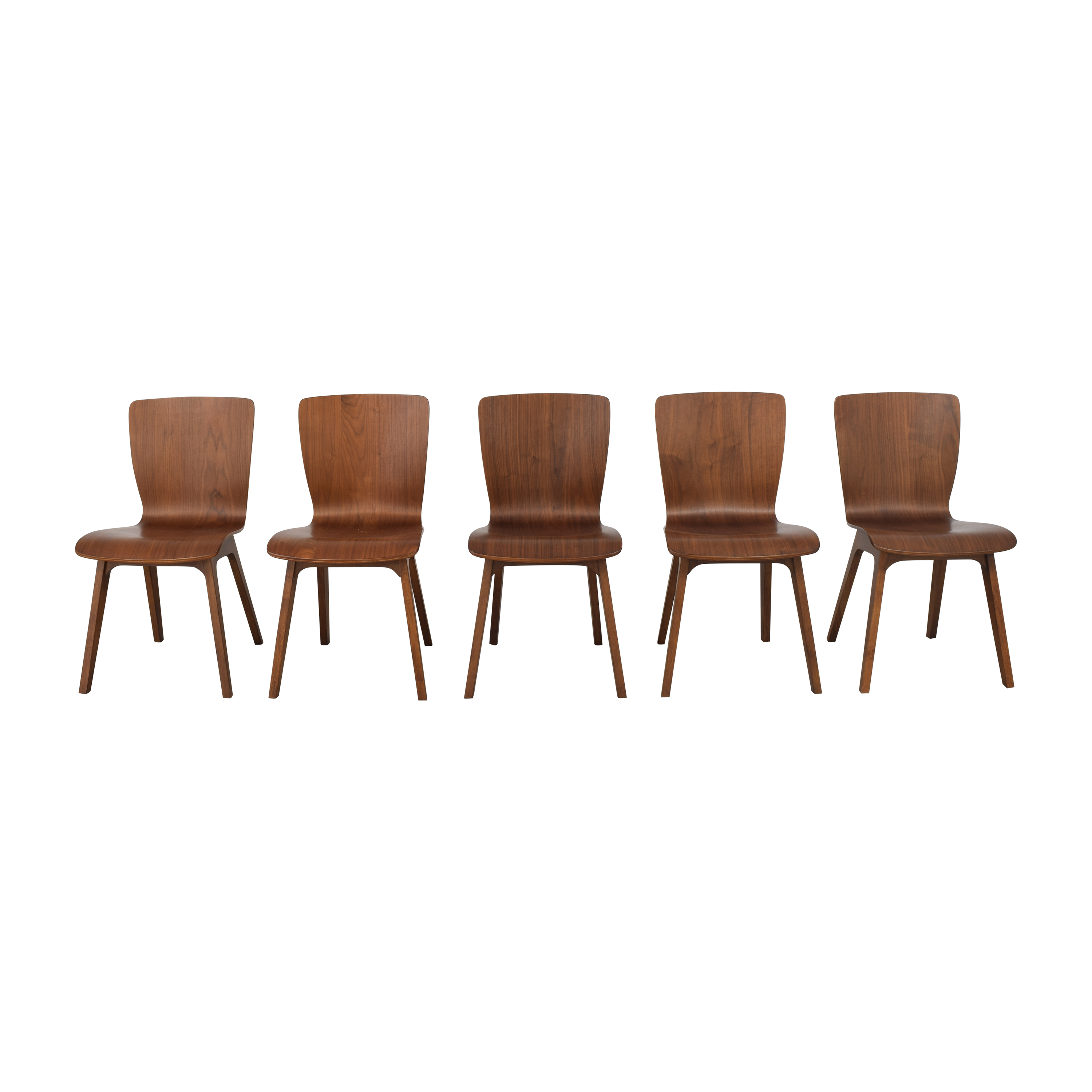 West Elm West Elm Crest Bentwood Dining Chairs discount