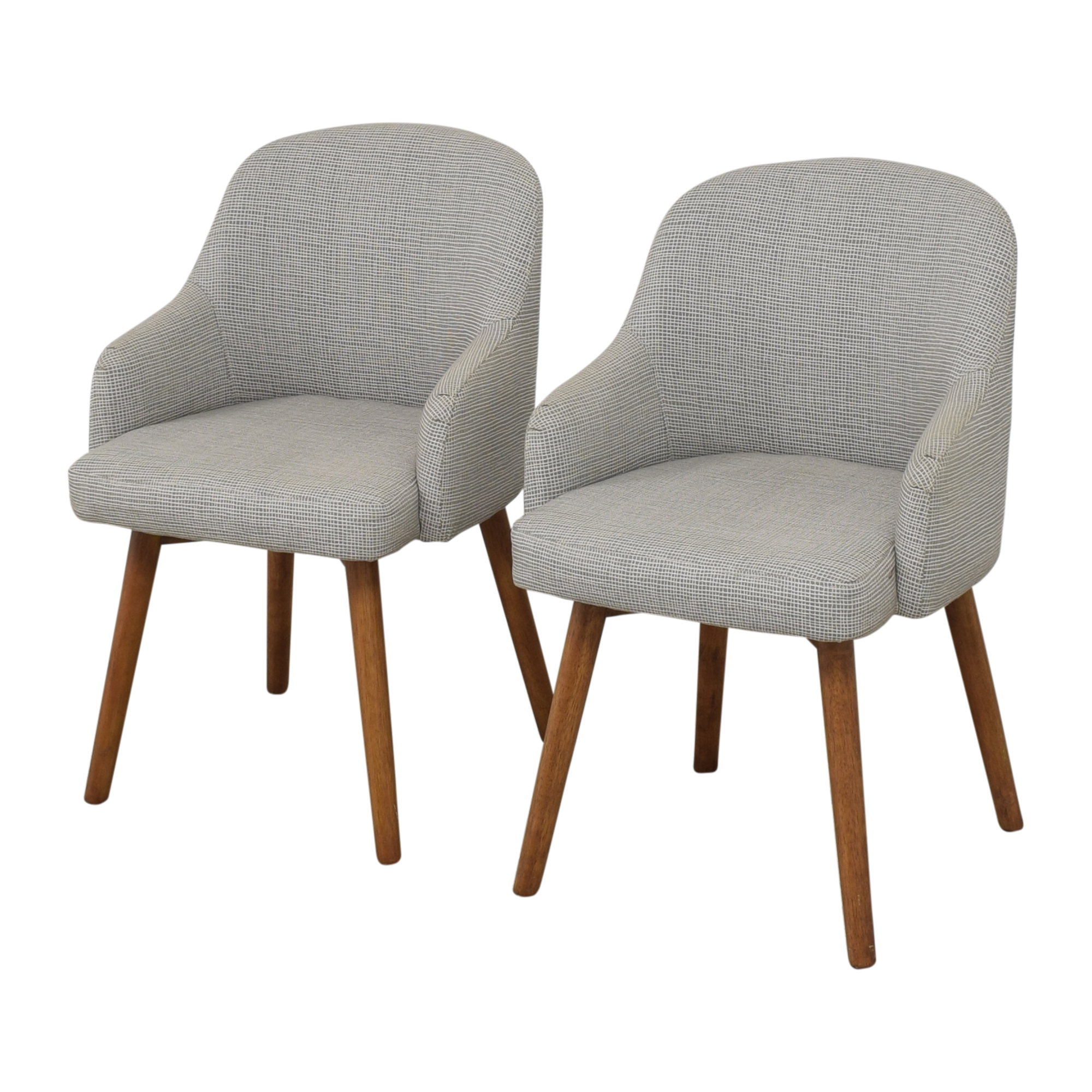West Elm West Elm Saddle Dining Chairs Chairs