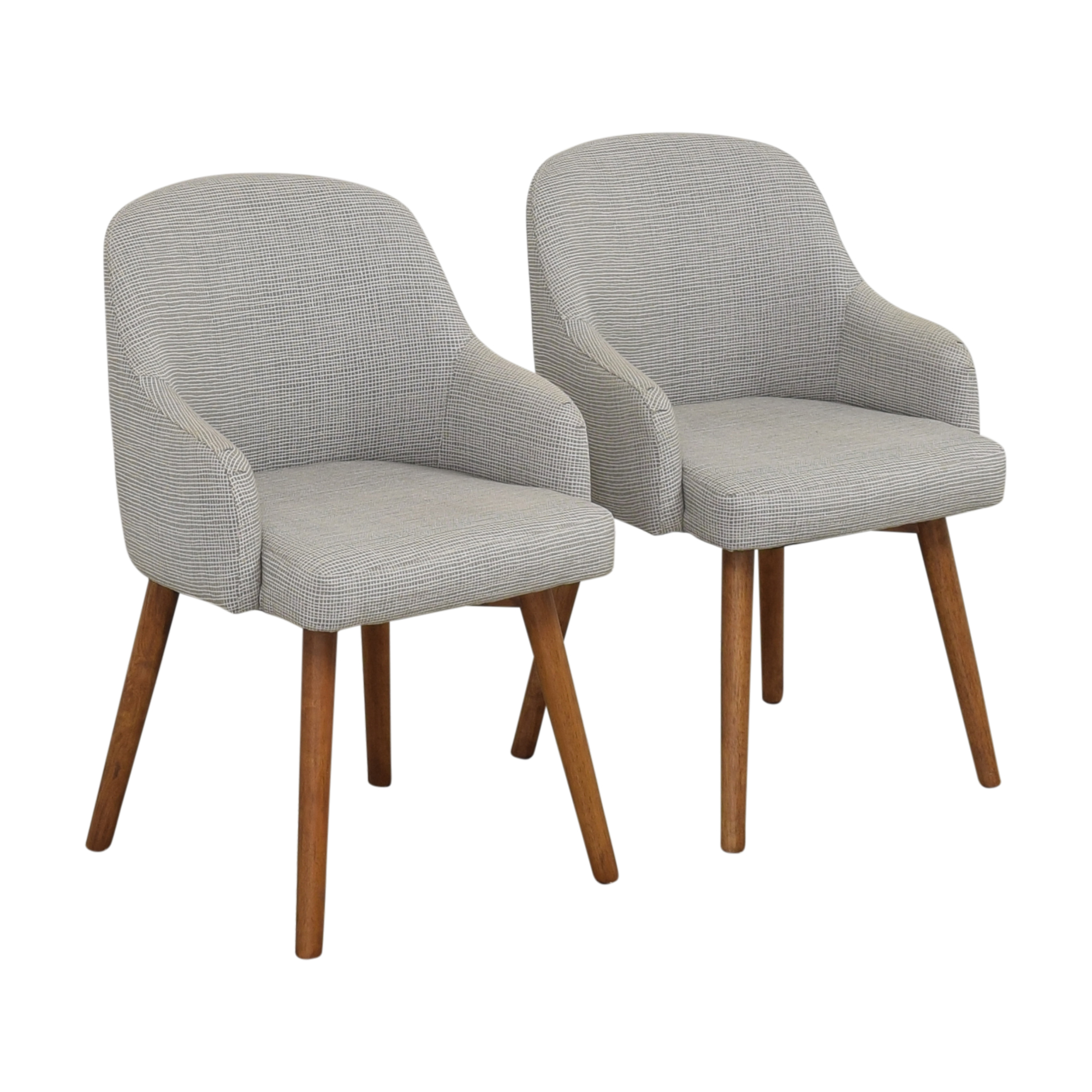 buy West Elm Saddle Dining Chairs West Elm Dining Chairs