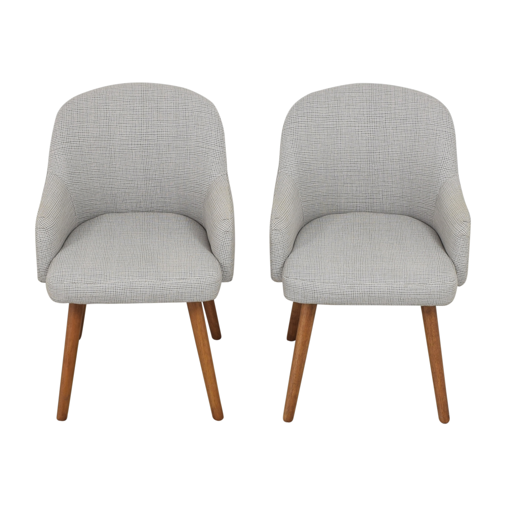 West Elm West Elm Saddle Dining Chairs second hand