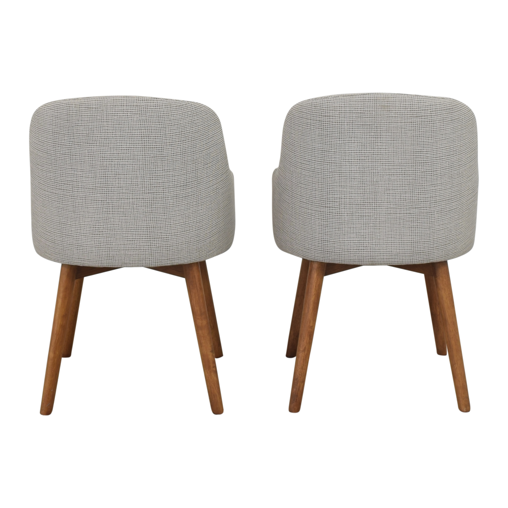 West Elm West Elm Saddle Dining Chairs discount
