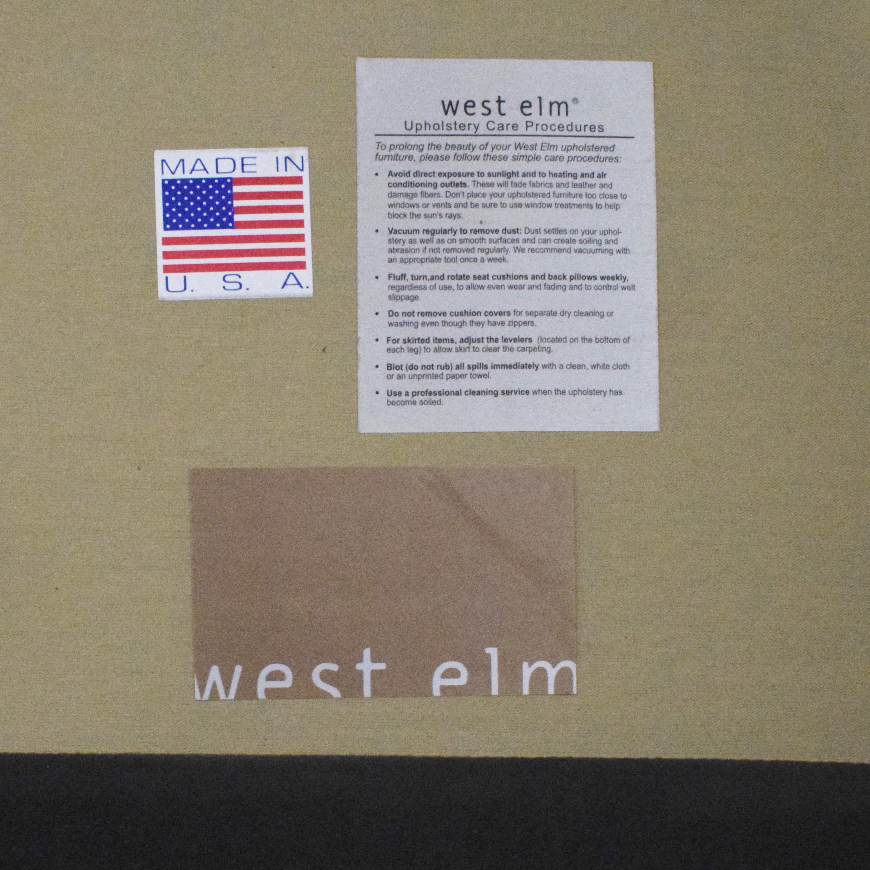 West Elm Sutton Sofette sale