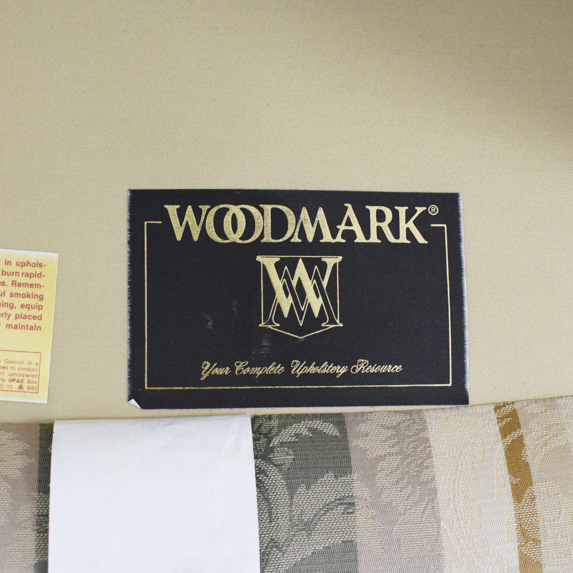 Woodmark Woodmark Wing Back Accent Chair discount