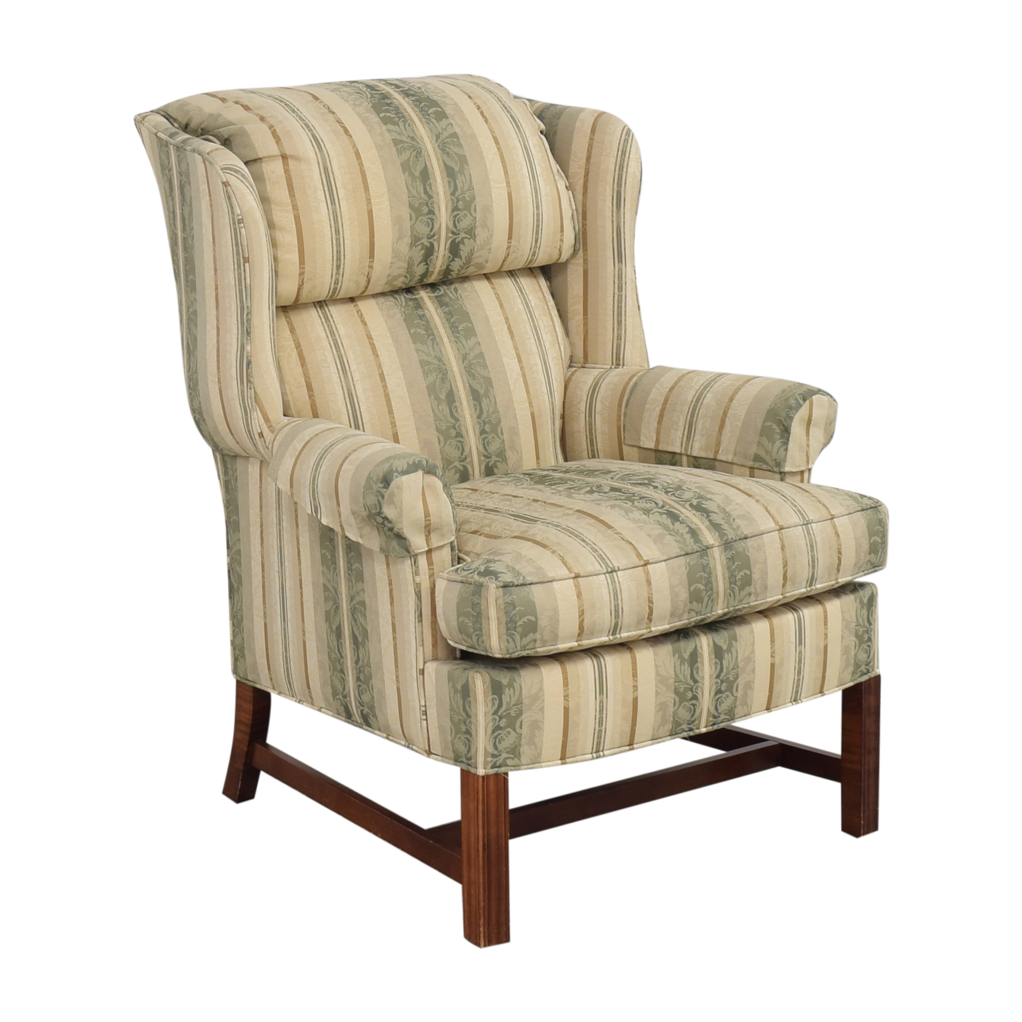 shop Woodmark Wing Back Accent Chair Woodmark