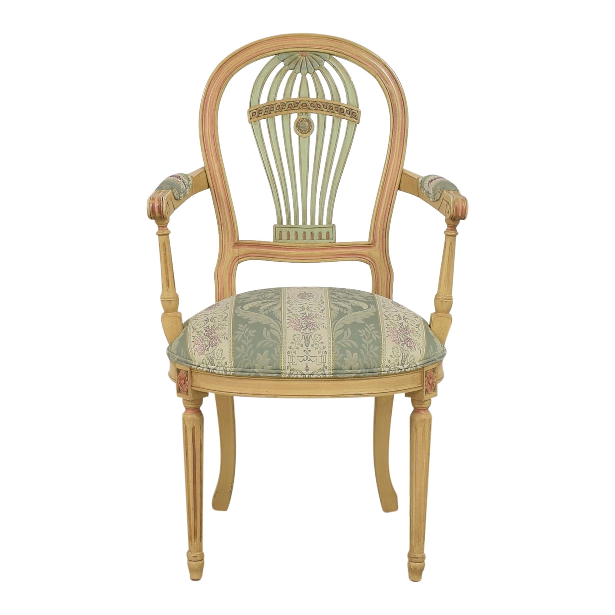 buy Ethan Allen Balloon Back Chair Ethan Allen Accent Chairs