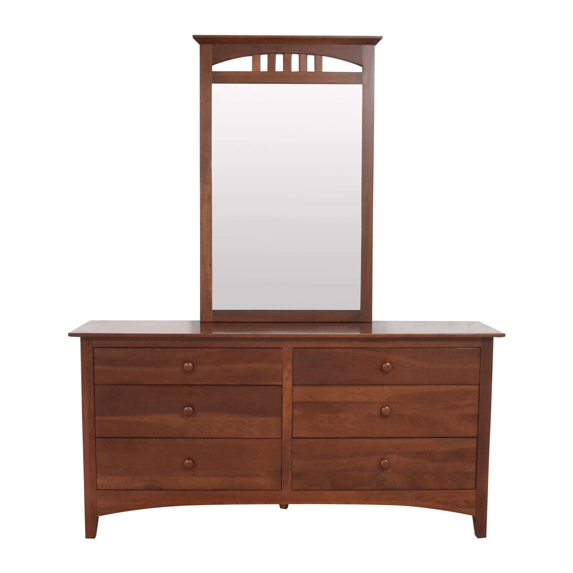 Ethan Allen Ethan Allen American Impressions Dresser with Mirror on sale