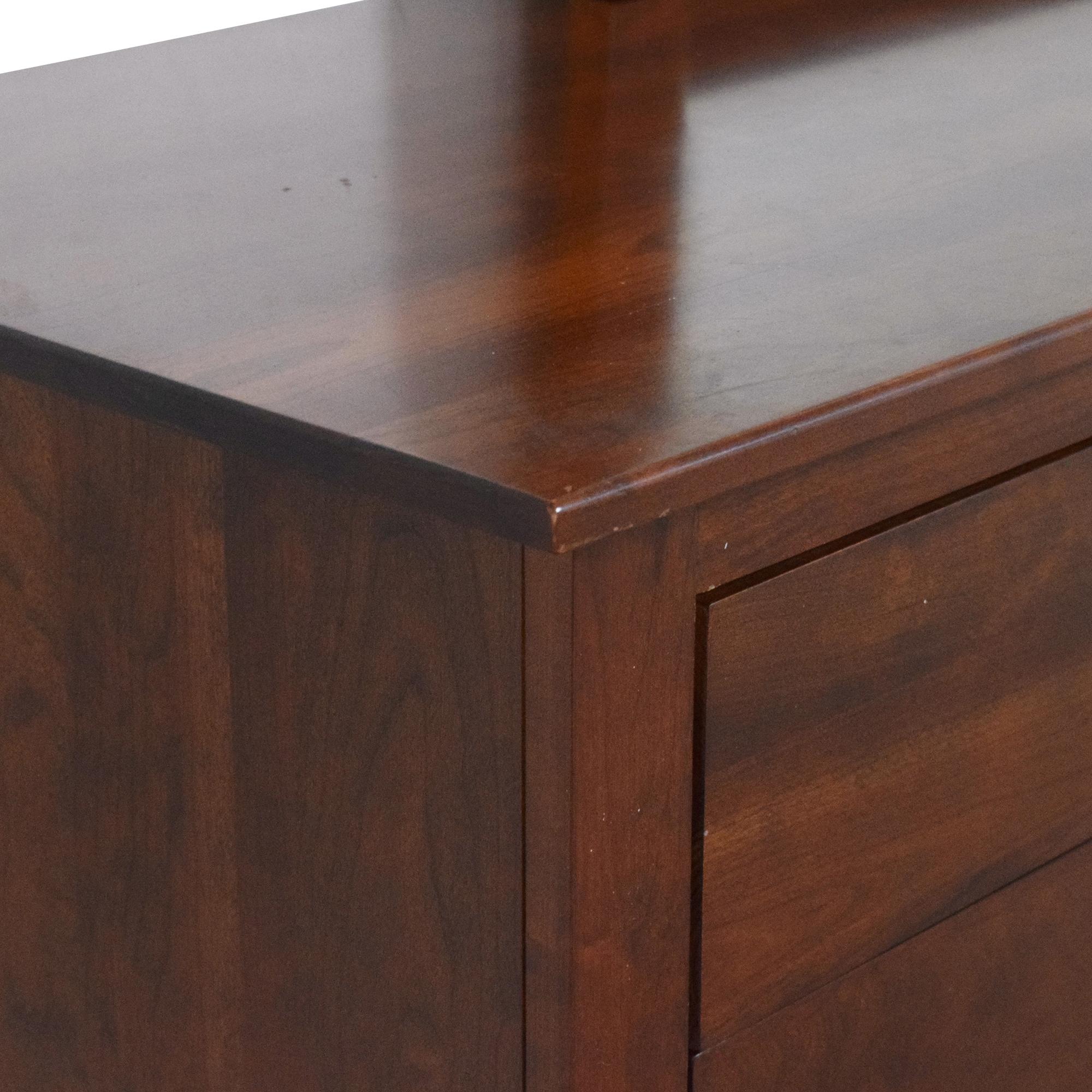 buy Ethan Allen American Impressions Dresser with Mirror Ethan Allen Storage