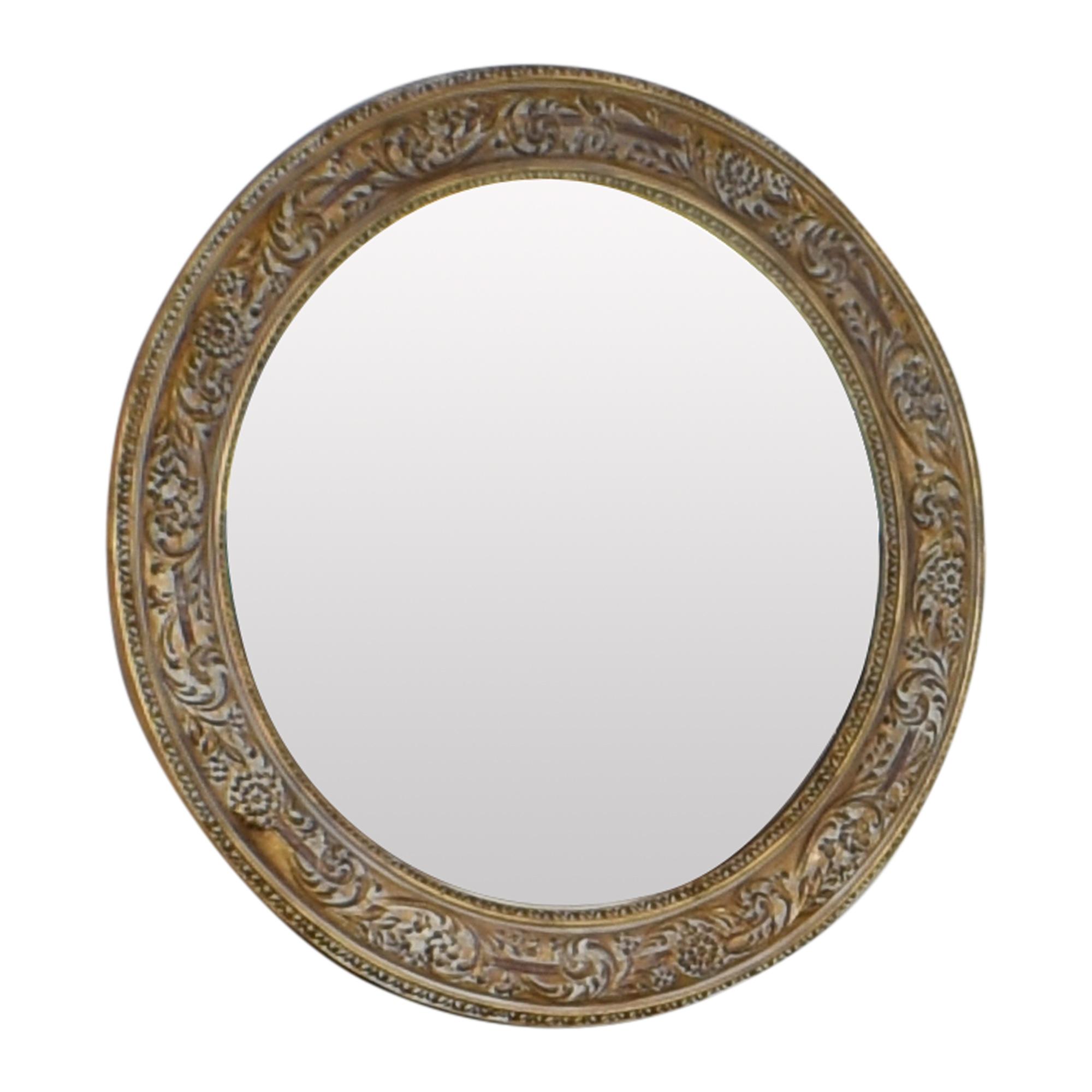 Ethan Allen Ornately Framed Mirror Ethan Allen