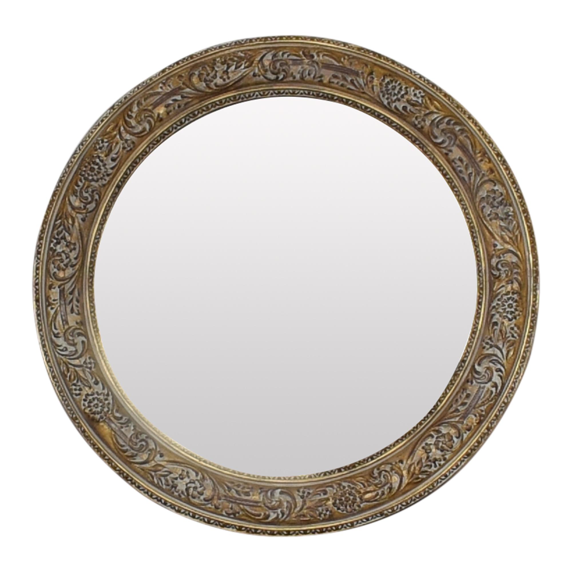buy Ethan Allen Ornately Framed Mirror Ethan Allen Decor