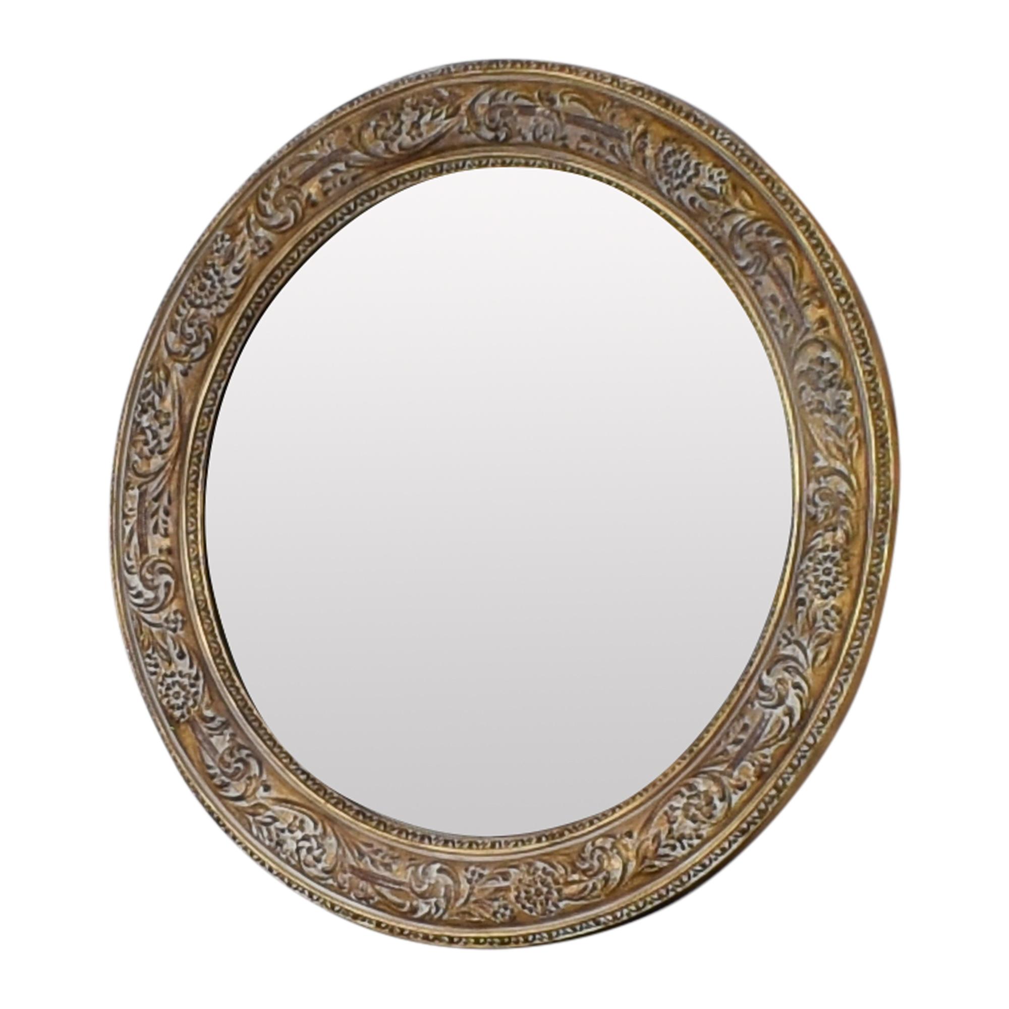 buy Ethan Allen Ornately Framed Mirror Ethan Allen Mirrors