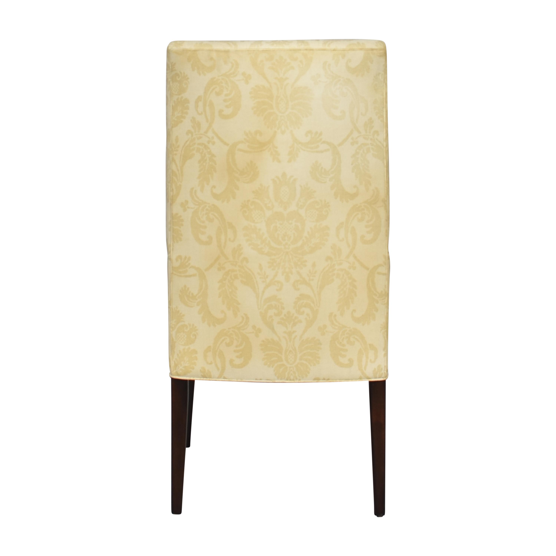 Arhaus Arhaus Platinum High Back Dining Chair pa