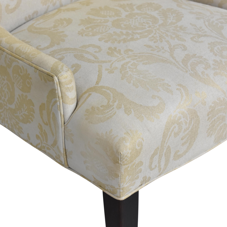Arhaus Arhaus Platinum High Back Dining Chair second hand