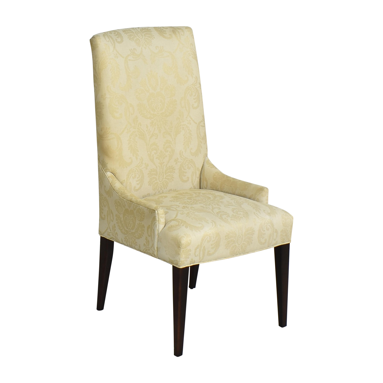 Arhaus Arhaus Platinum High Back Dining Chair Dining Chairs