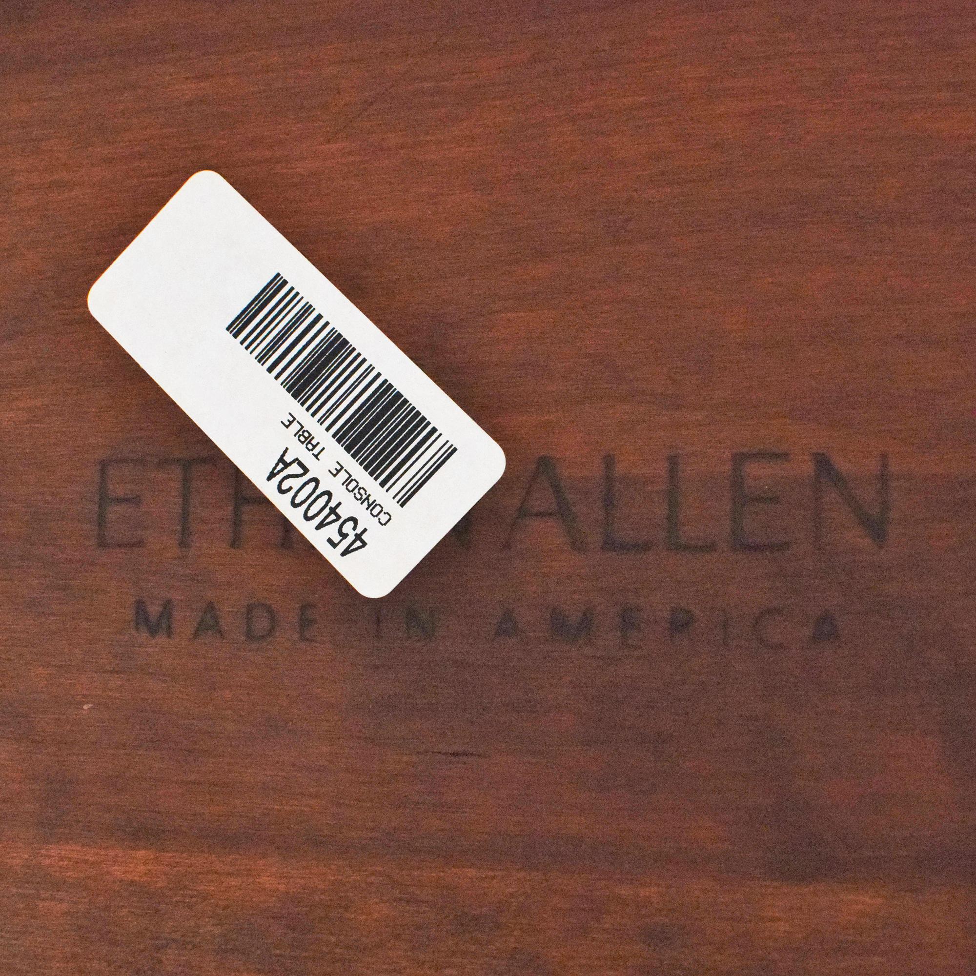 Ethan Allen Ethan Allen Demilune Console Table Tables