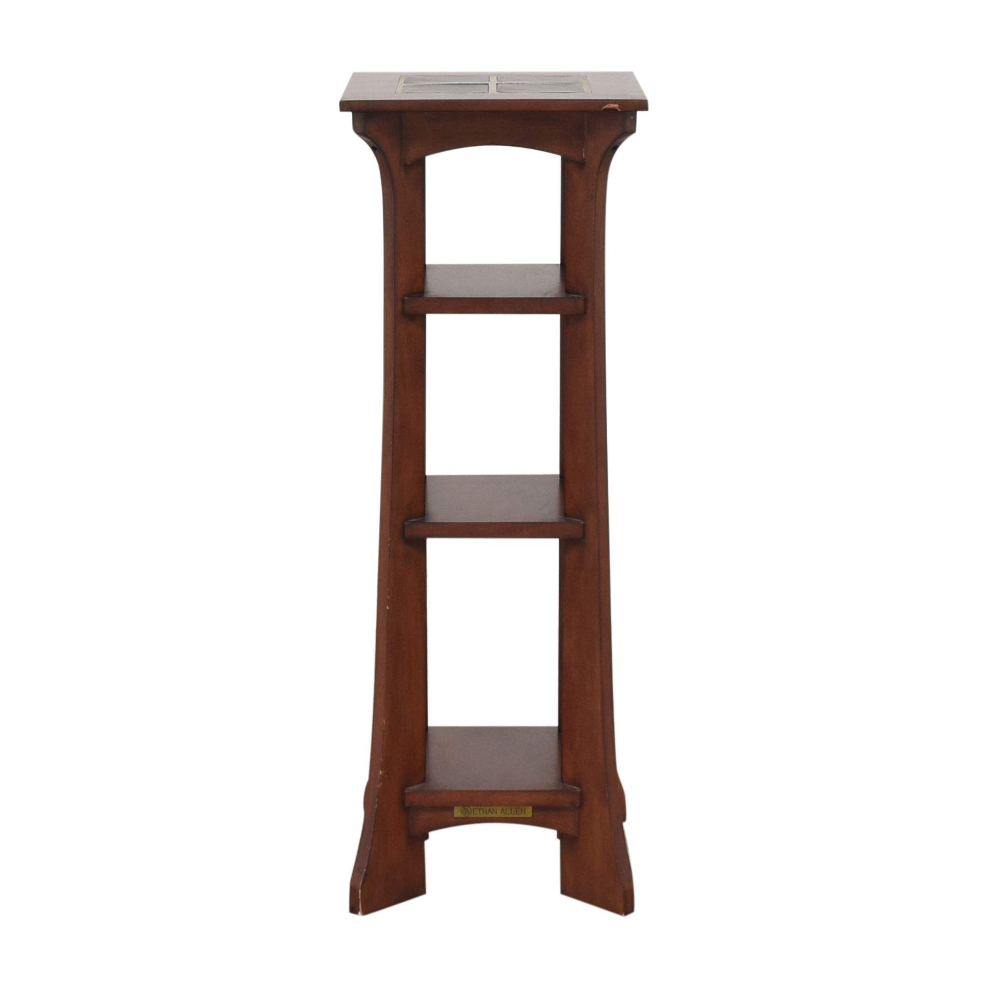 Ethan Allen Ethan Allen American Impressions Four Tier Plant Stand pa