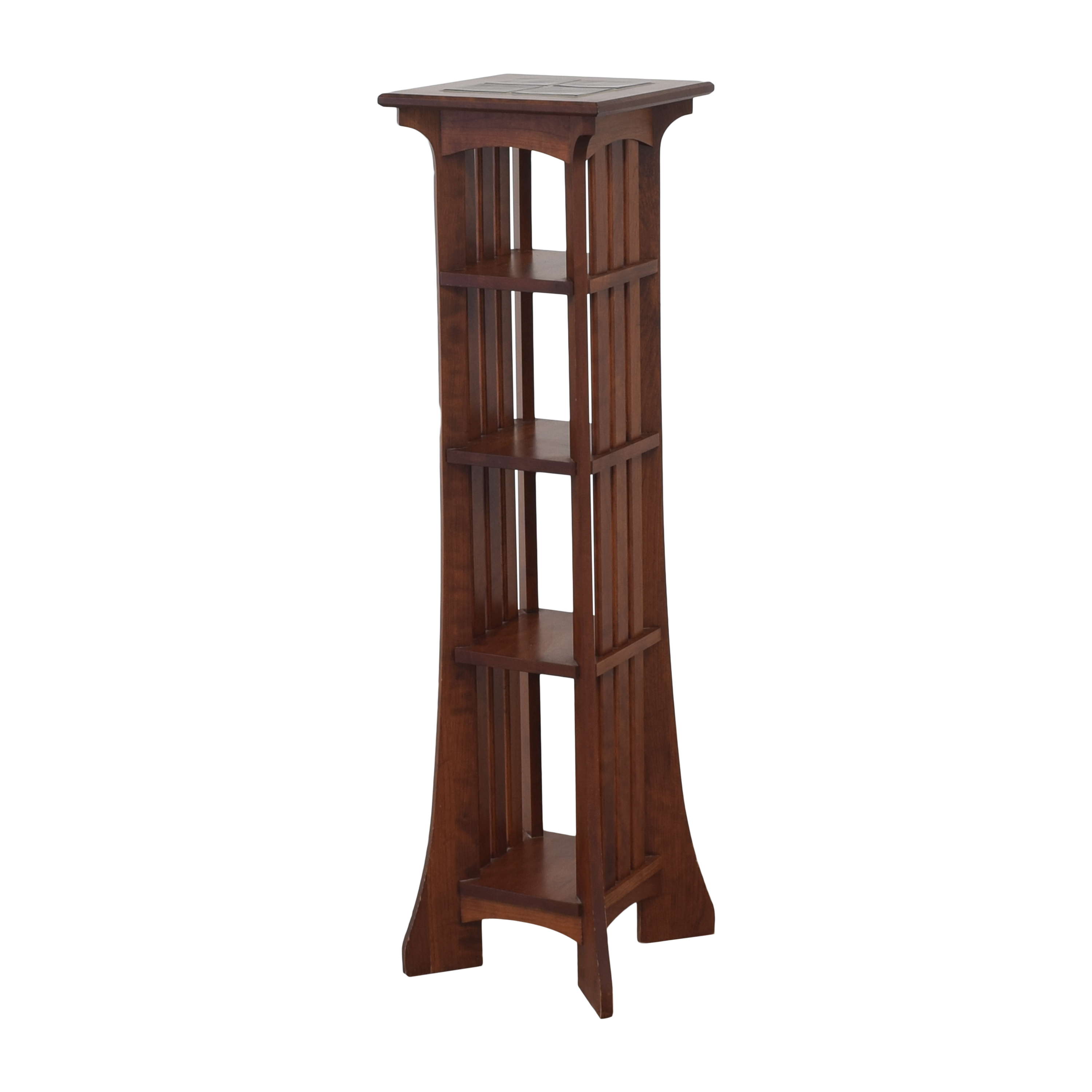buy Ethan Allen American Impressions Five Tier Plant Stand Ethan Allen Bookcases & Shelving