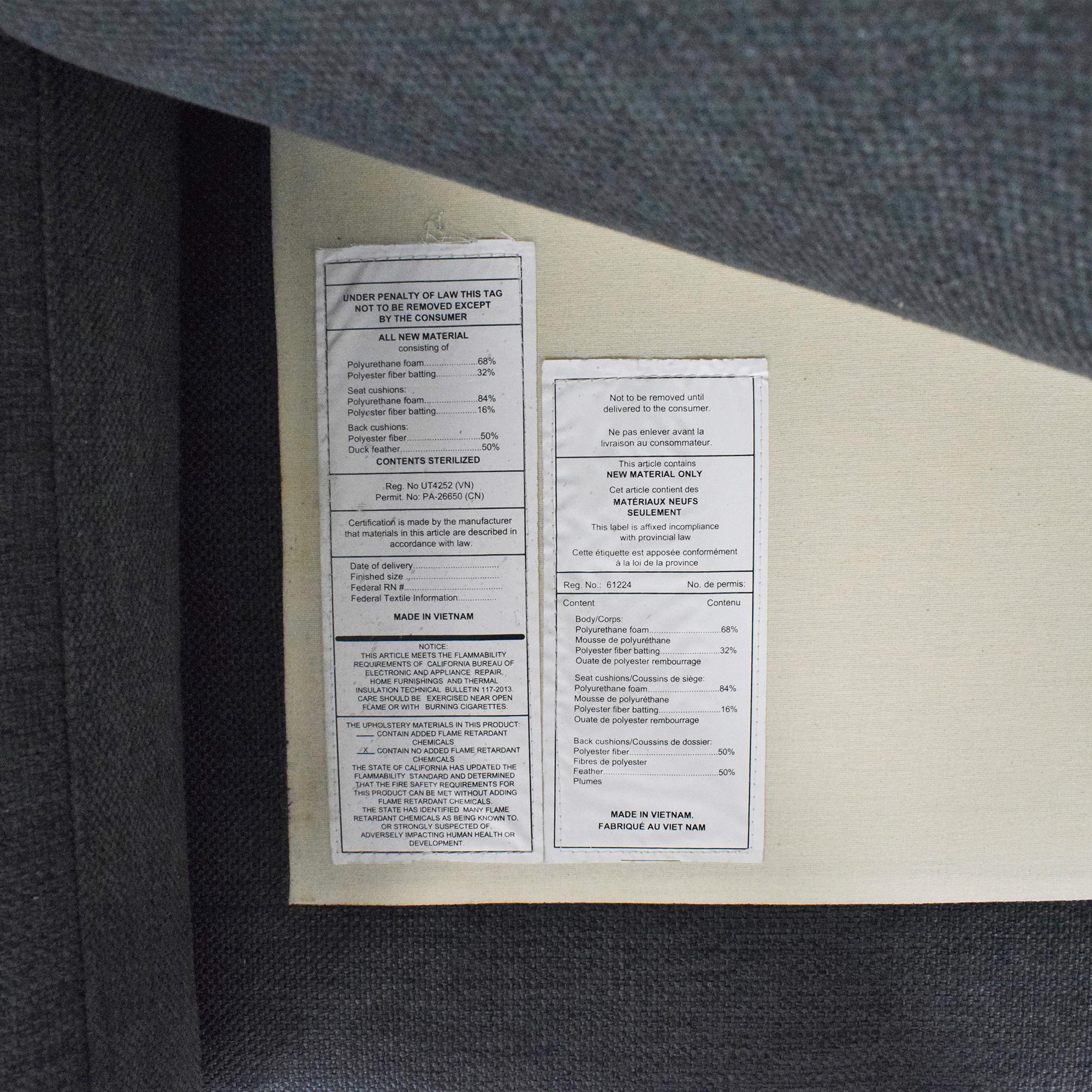 Article Nova Right Sectional Sofa / Sofas