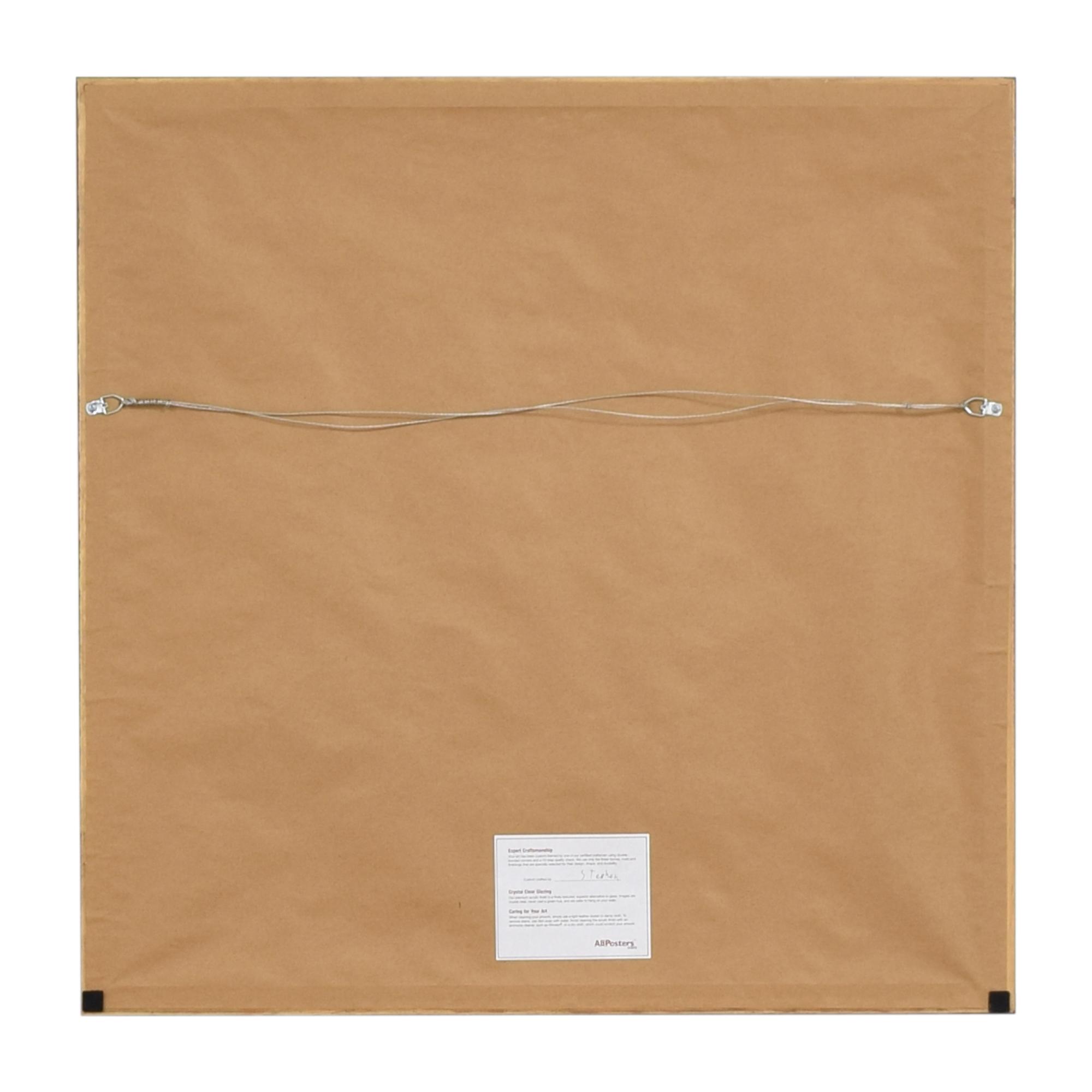 Philip Guston Framed Wall Art dimensions