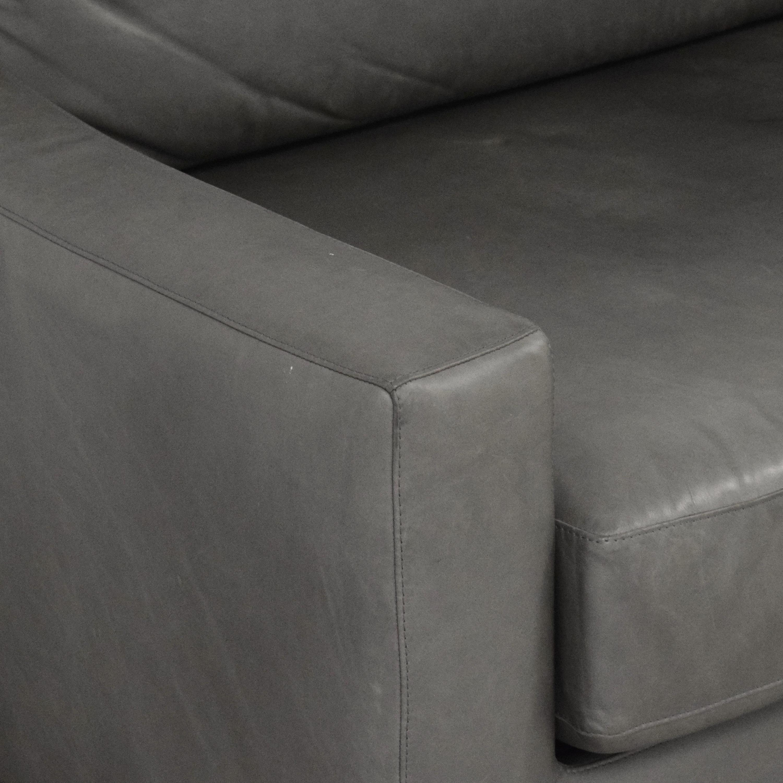 shop Restoration Hardware Modena Slope Arm Sofa Restoration Hardware