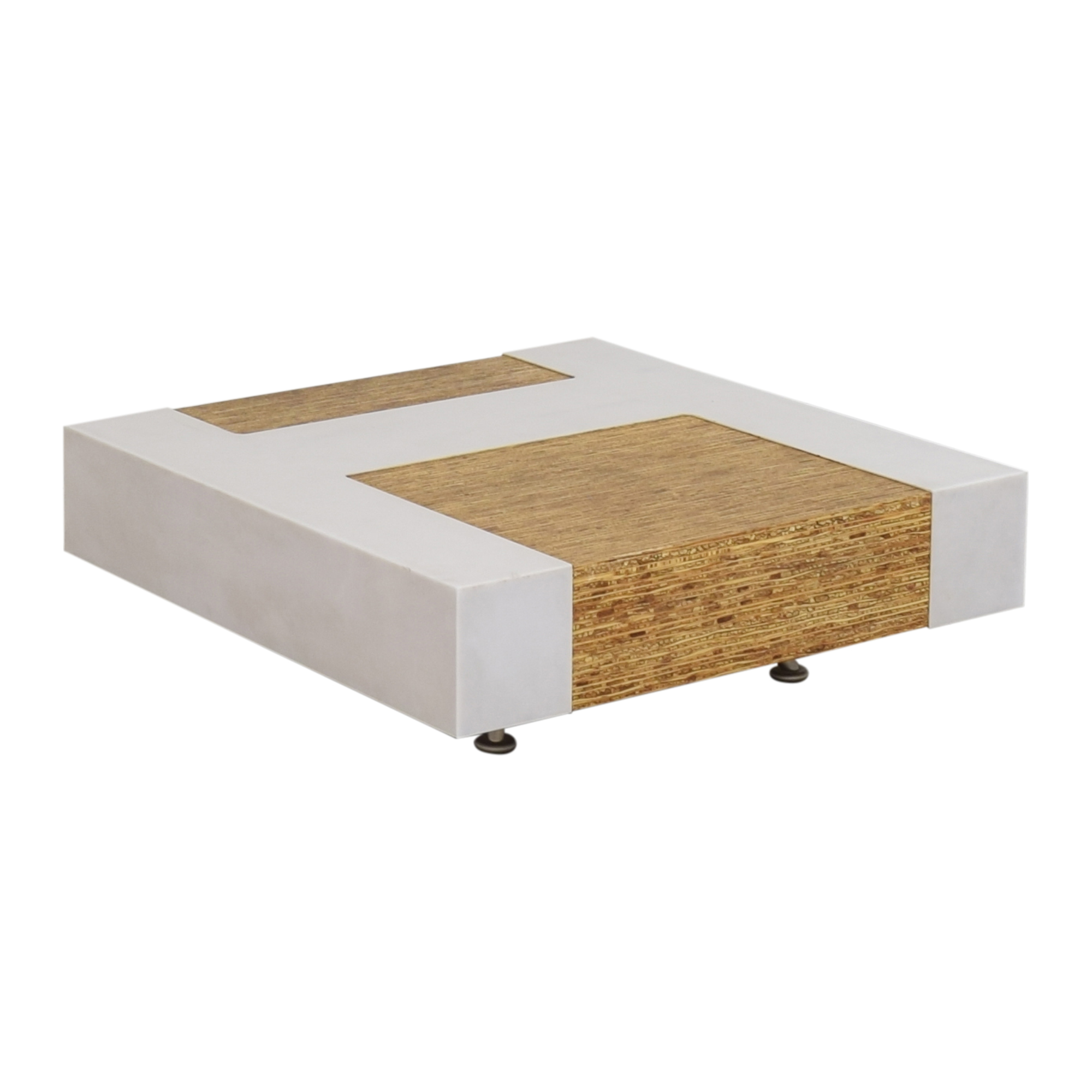 Contemporary Square Coffee Table on sale