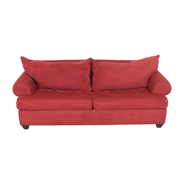 Bauhaus Furniture Bauhaus Furniture Roll Arm Sleeper Sofa dimensions