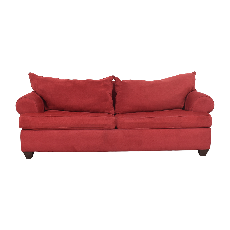 Bauhaus Furniture Bauhaus Furniture Roll Arm Sleeper Sofa Sofas