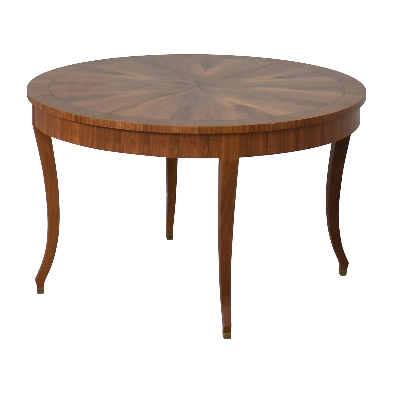 Lane Furniture Lane Furniture Extendable Round Dining Table used
