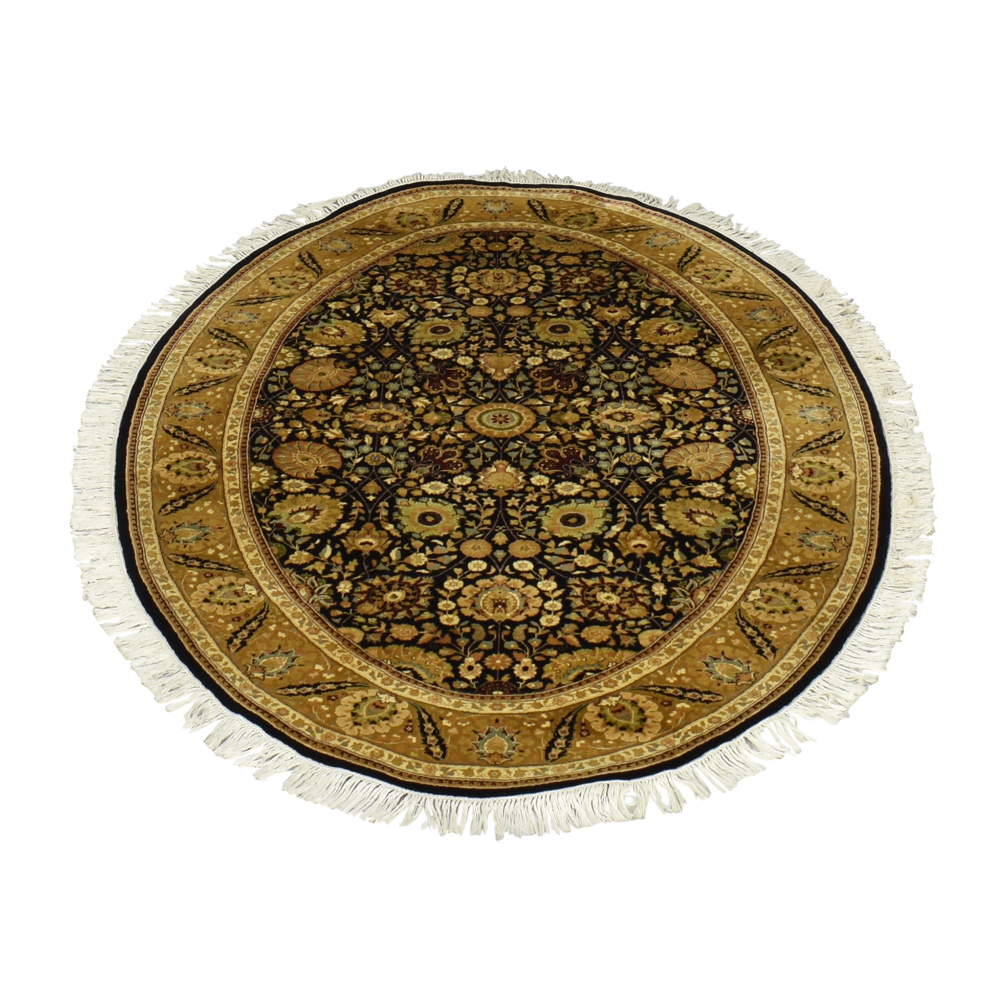 ABC Carpet & Home ABC Carpet & Home Oval Rug Decor