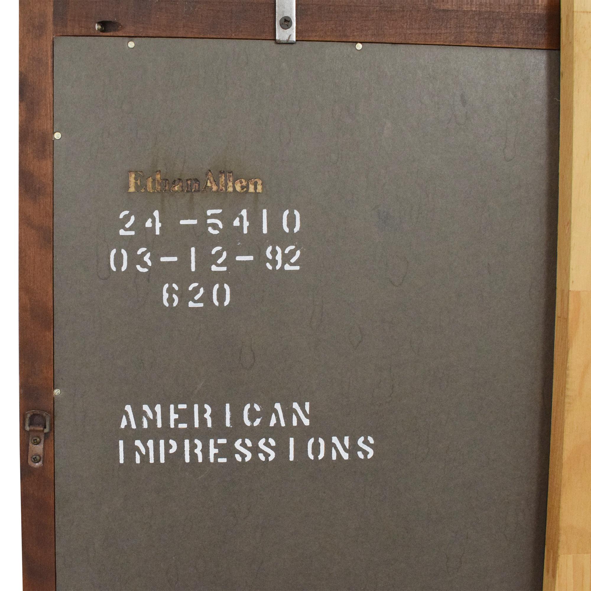 Ethan Allen Ethan Allen American Impressions Arched Mirror nj