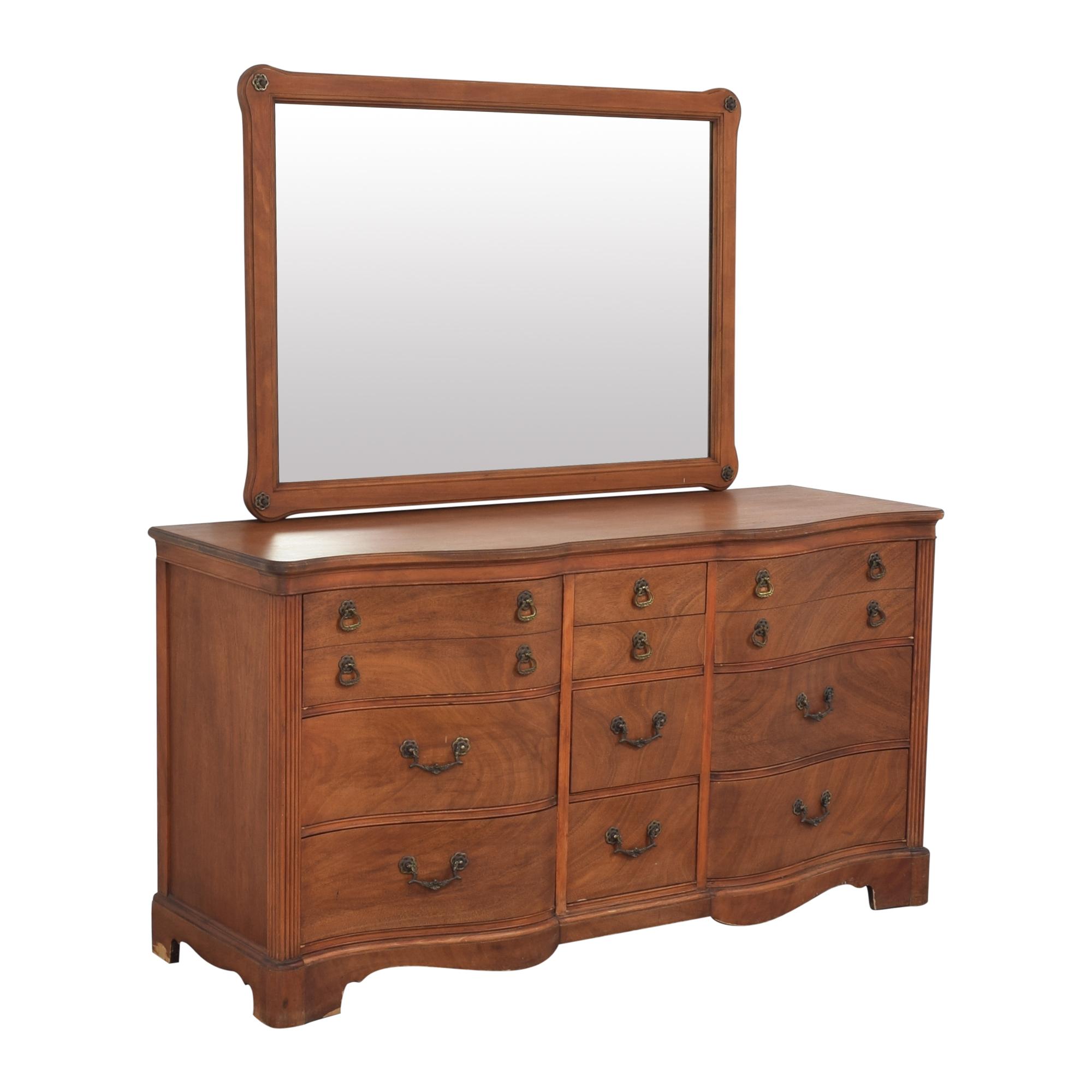 shop Drexel Drexel Triple Dresser with Mirror online