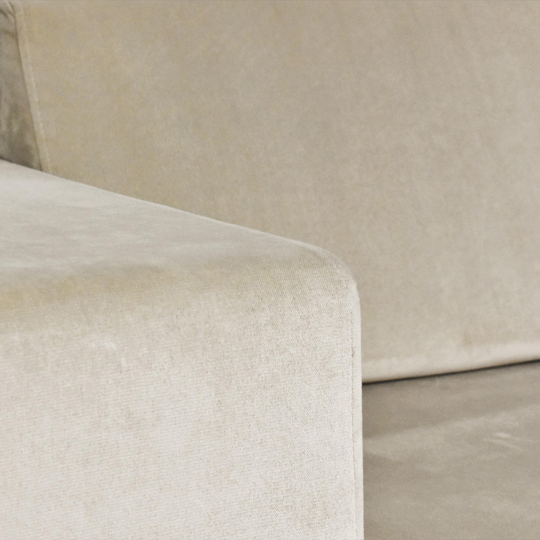 Lazzoni Lazzoni Chaise Sectional Sofa used