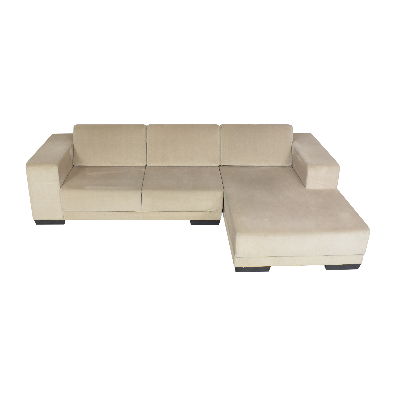 Lazzoni Lazzoni Chaise Sectional Sofa ma