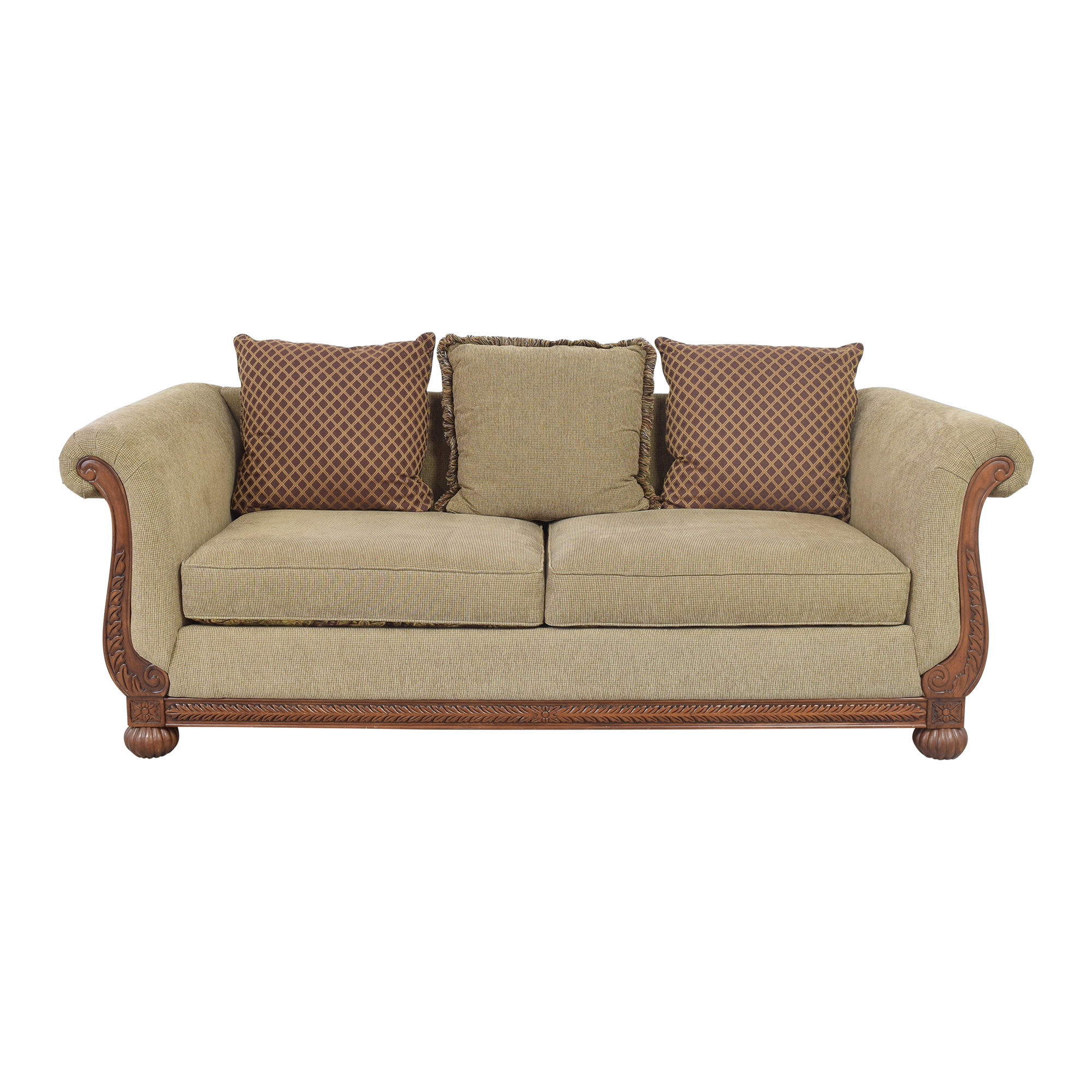 buy HM Richards Furniture HM Richards Furniture Traditional Roll Arm Sofa online